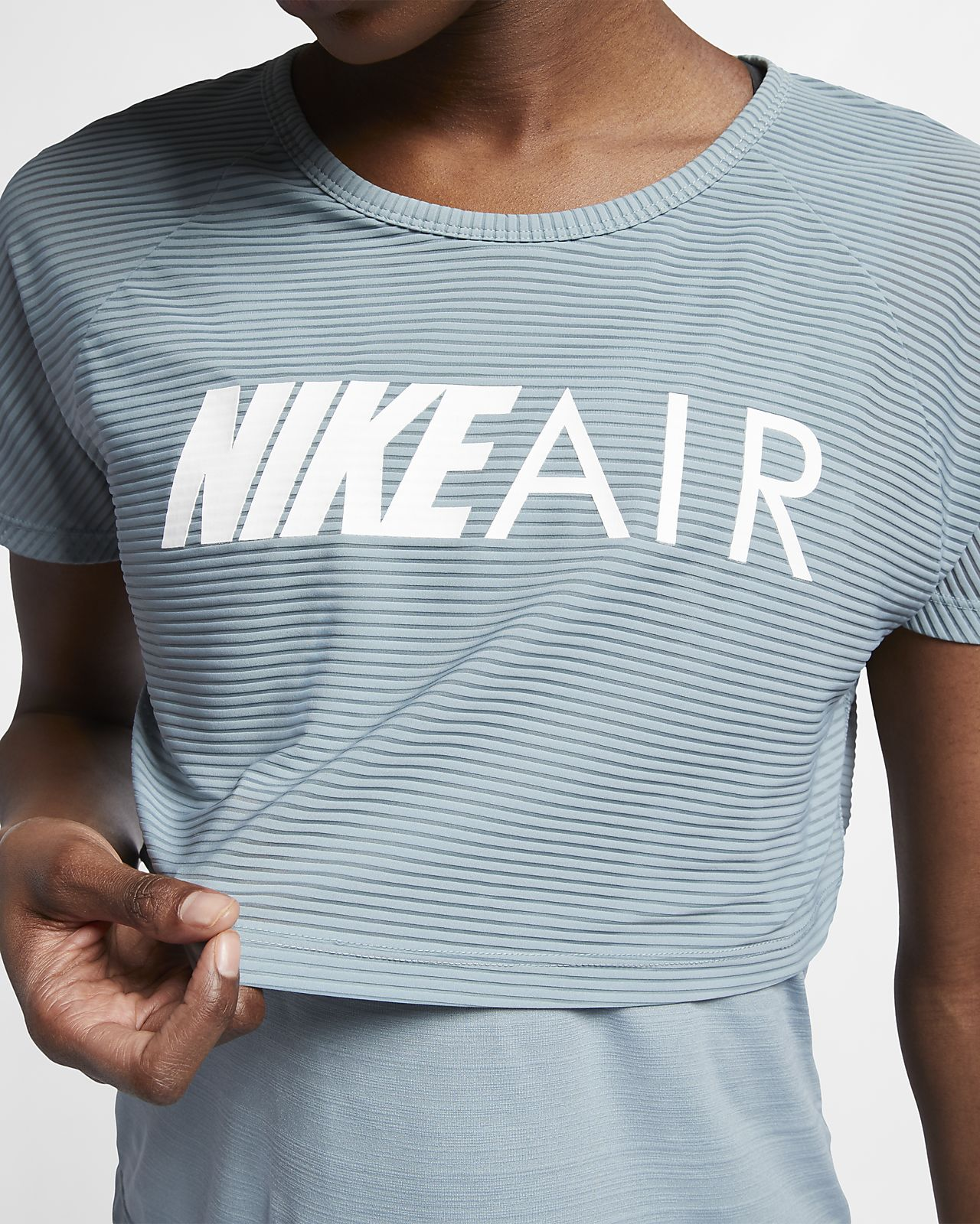 buy online 87a57 c6f2d ... Nike Air Women s Graphic Running Top