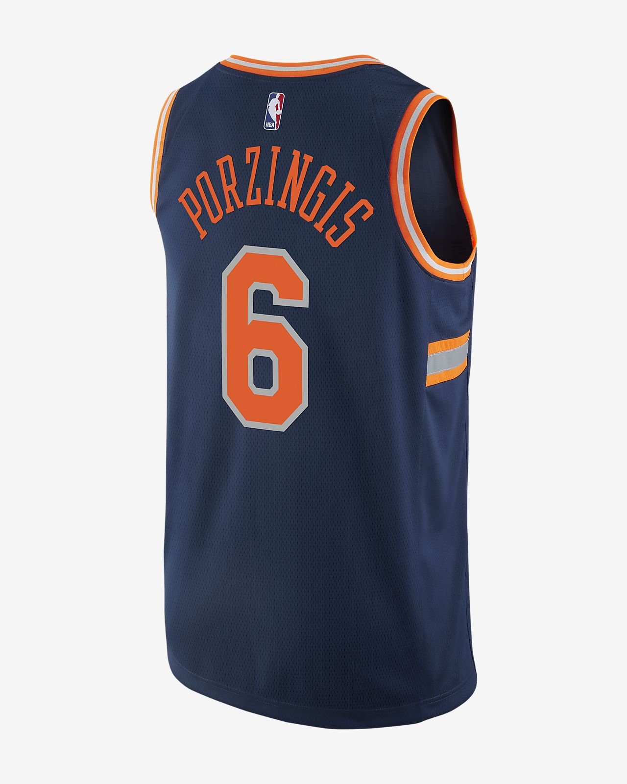 ee3b3bfcf102 ... kristaps porzingis city edition swingman jersey (new york knicks) mens nike  nba jersey