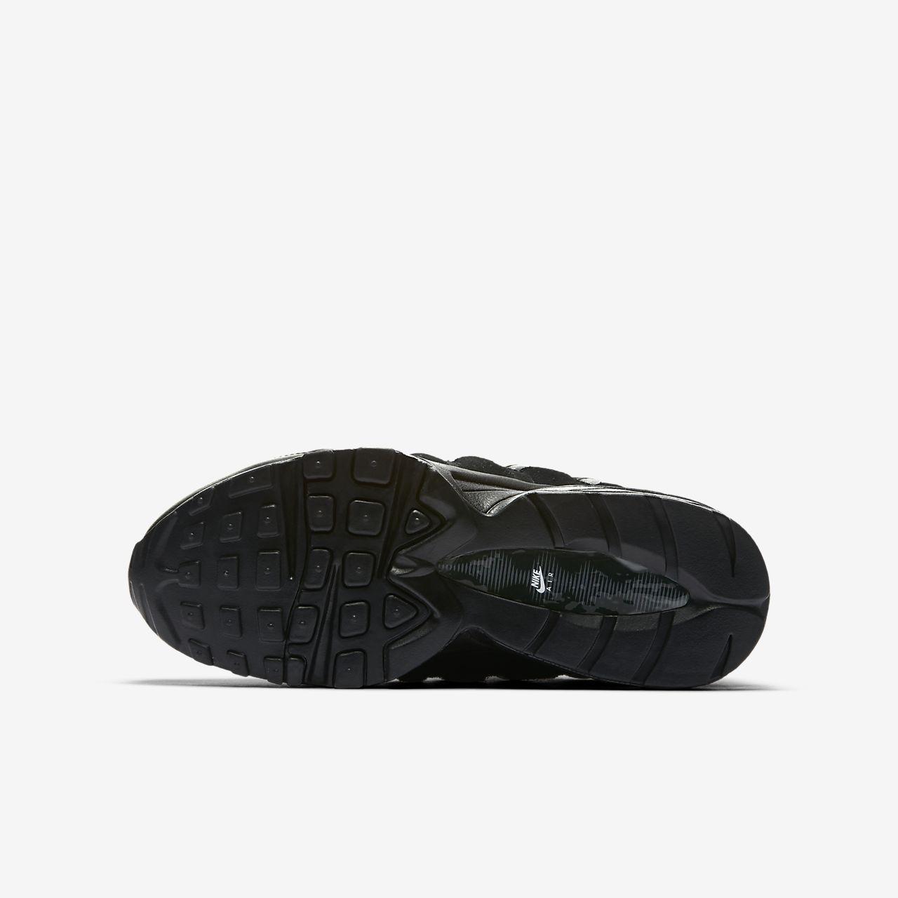 Details about Nike Air Max 95 Big Kid's Shoes Black Black 307565 055