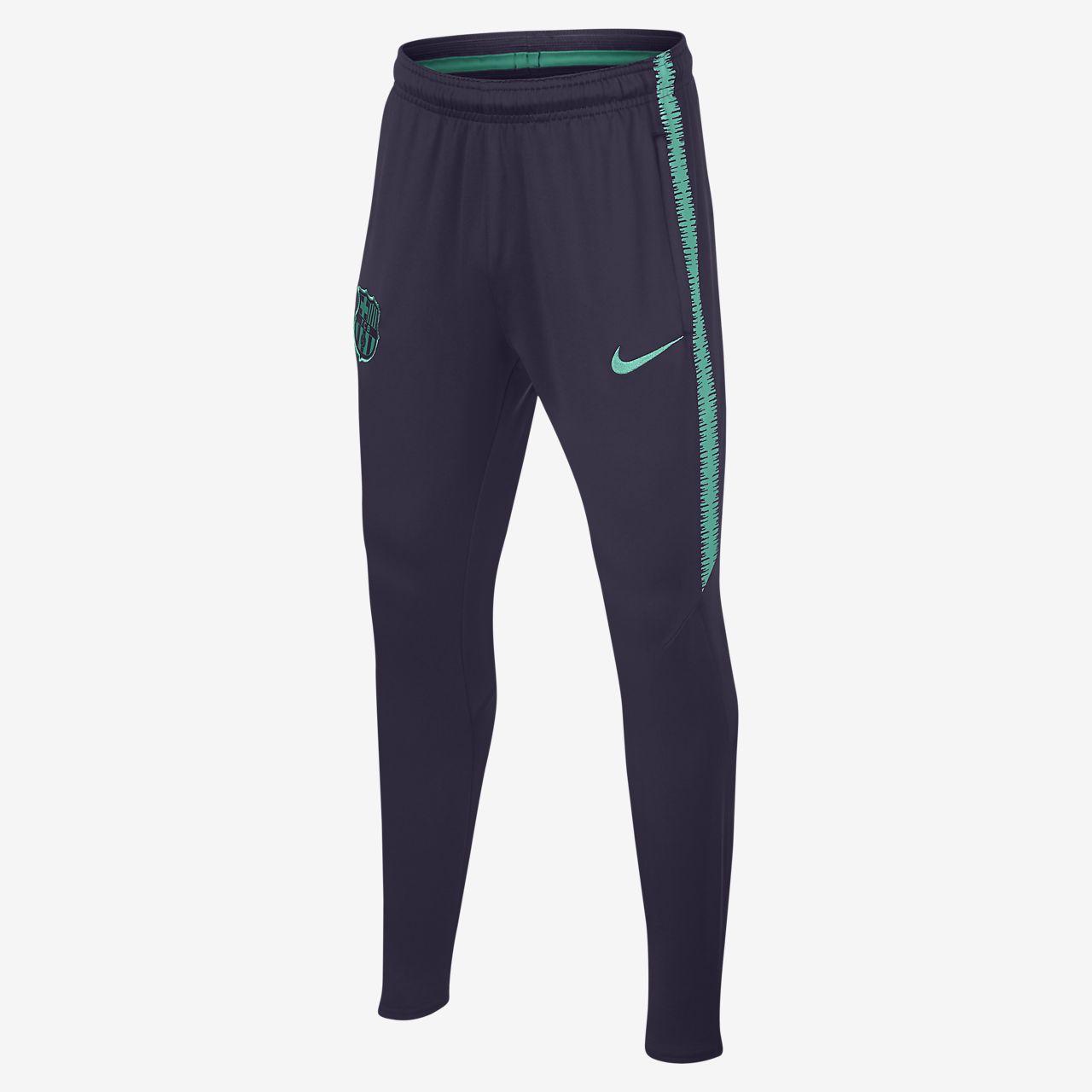 Футбольные брюки для школьников FC Barcelona Dri-FIT Squad