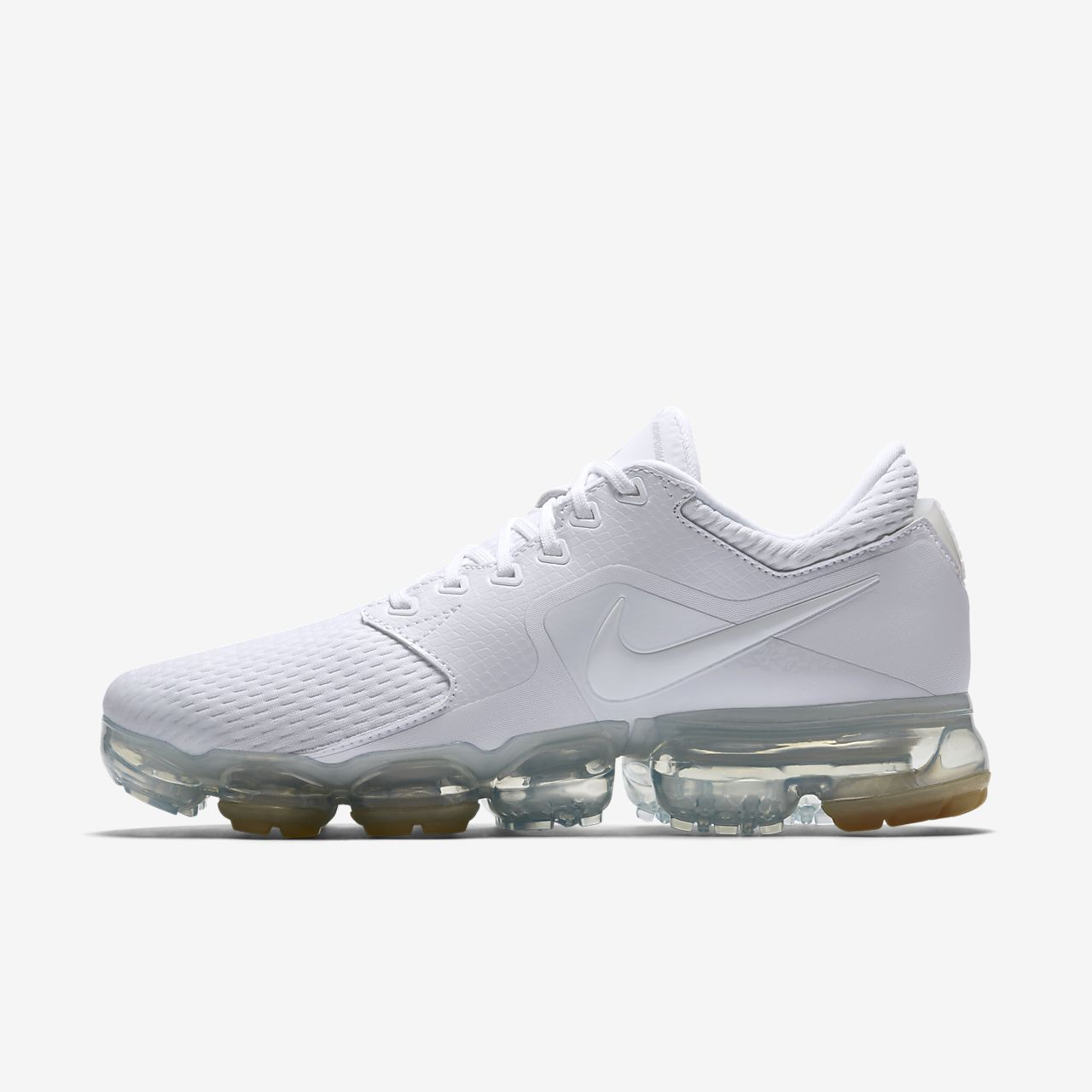 Famous Wmns Nike Air Vapormax White Metallic Silver Awesome Women Running Shoes AH9045-101 Best