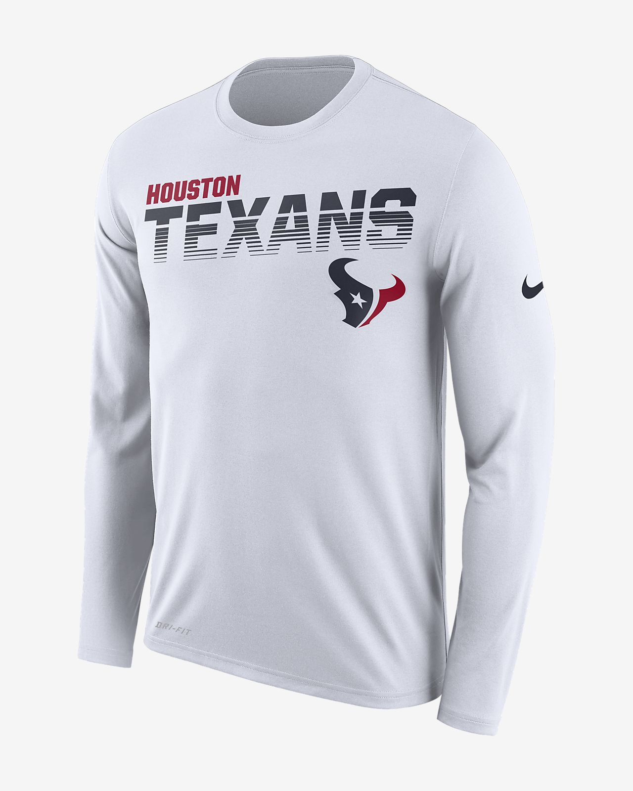 Nike Legend (NFL Texans) Men's Long-Sleeve T-Shirt