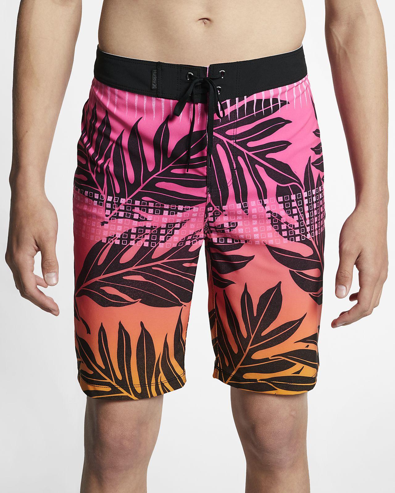 Shorts de playa de 51 cm para hombre Hurley Phantom Sig Zane Moorea