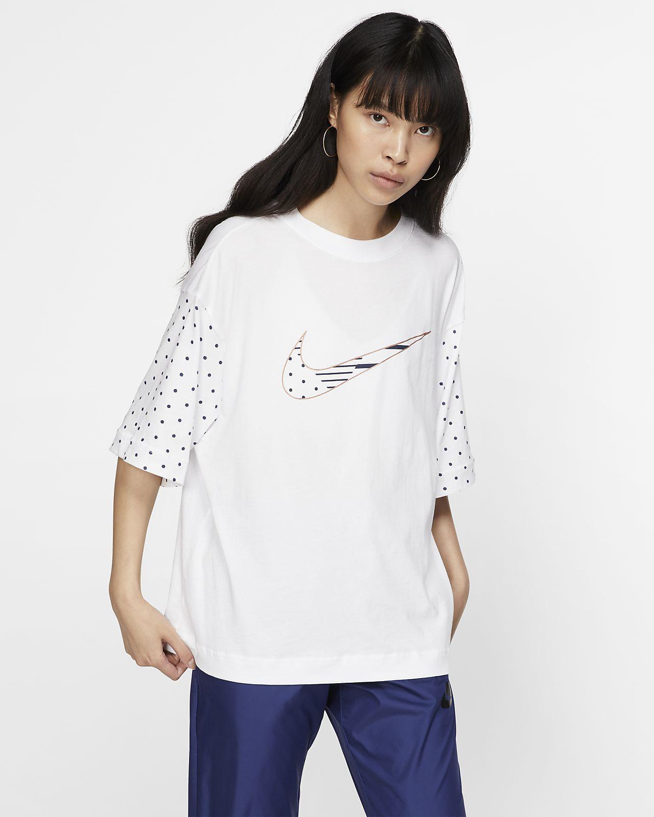 Top a manica corta Nike Sportswear Unité Totale - Donna
