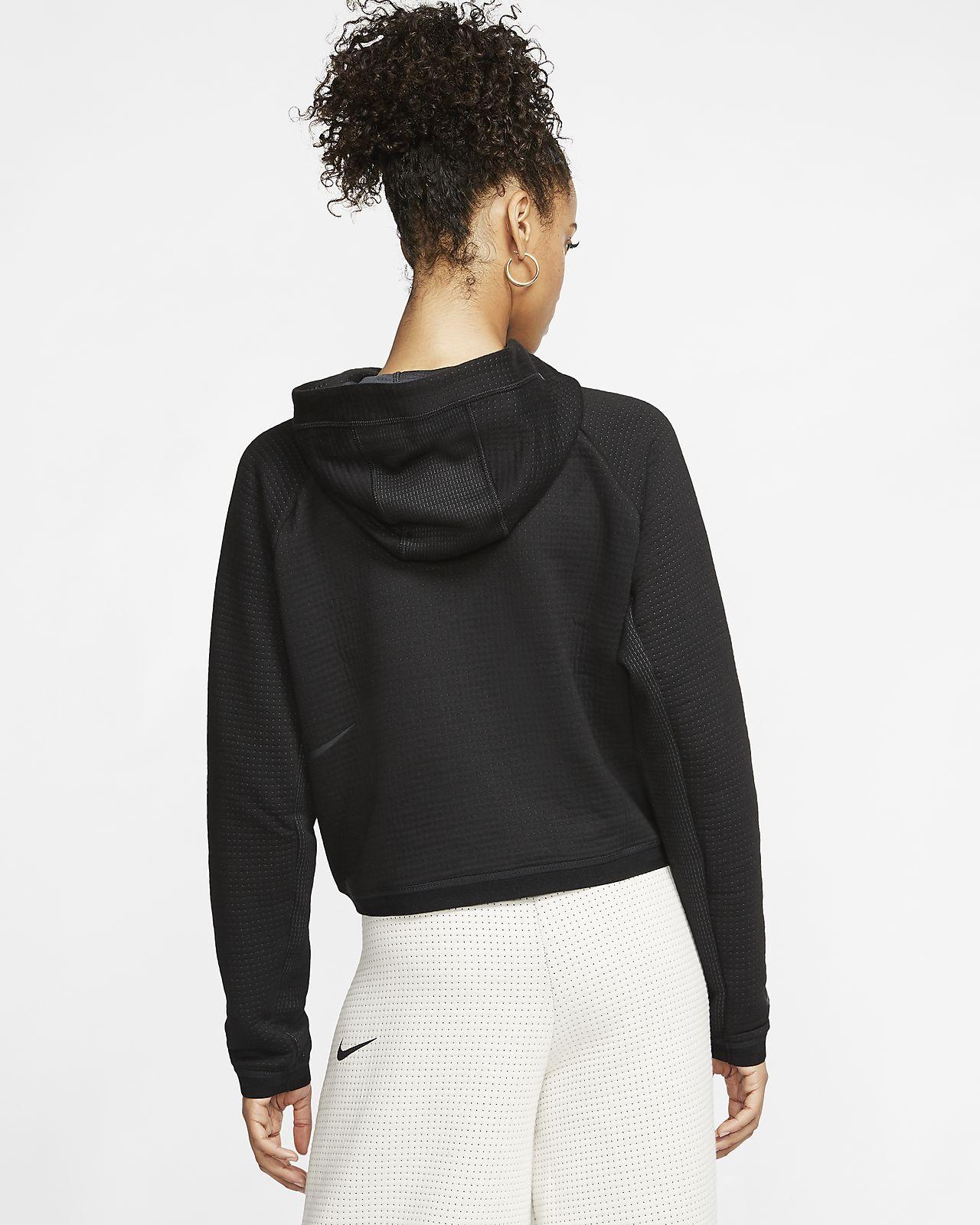 Nike Womens Club Fleece Full Zip Hoodie