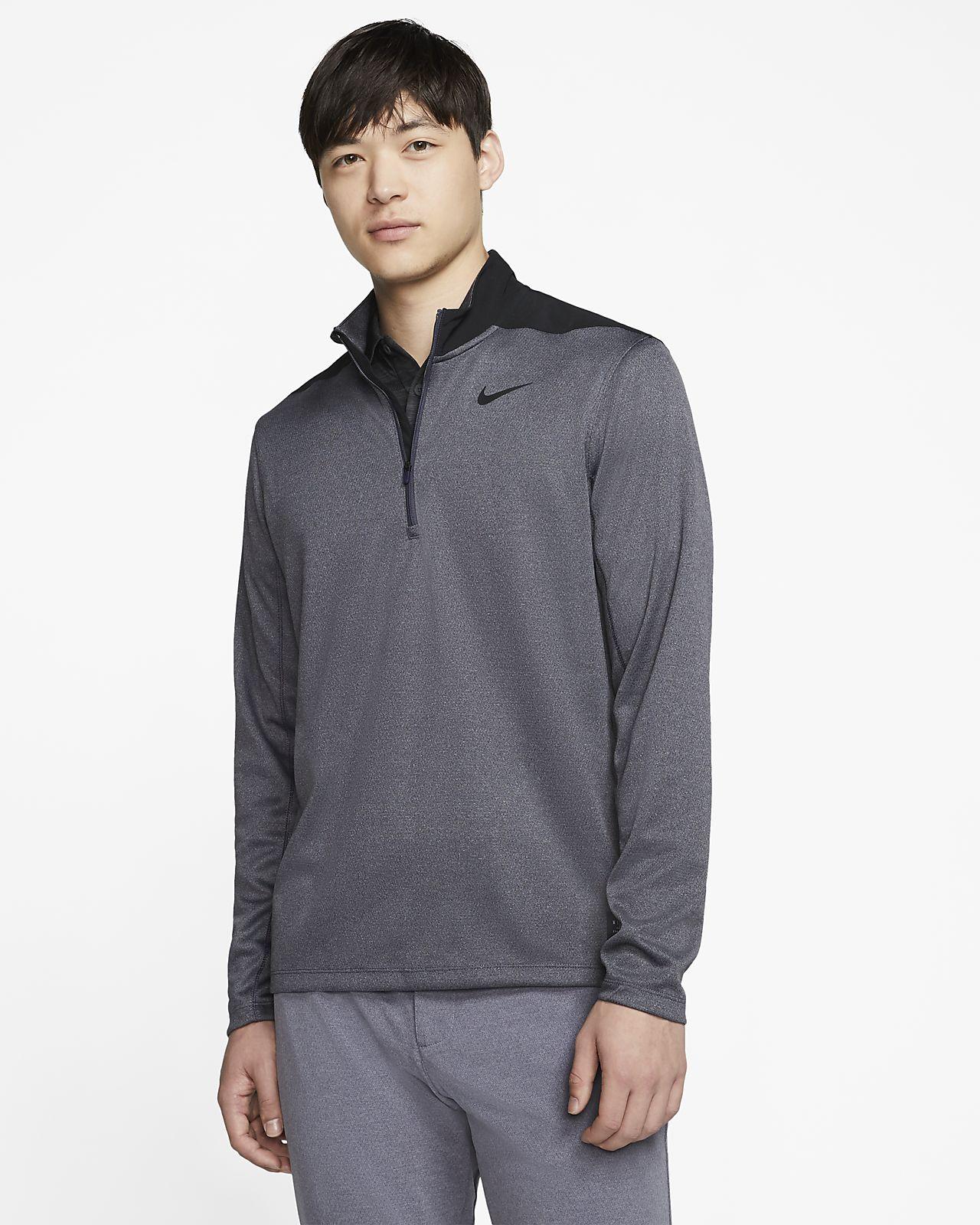 ナイキ Dri-FIT メンズ 1/2ジップ ゴルフトップ