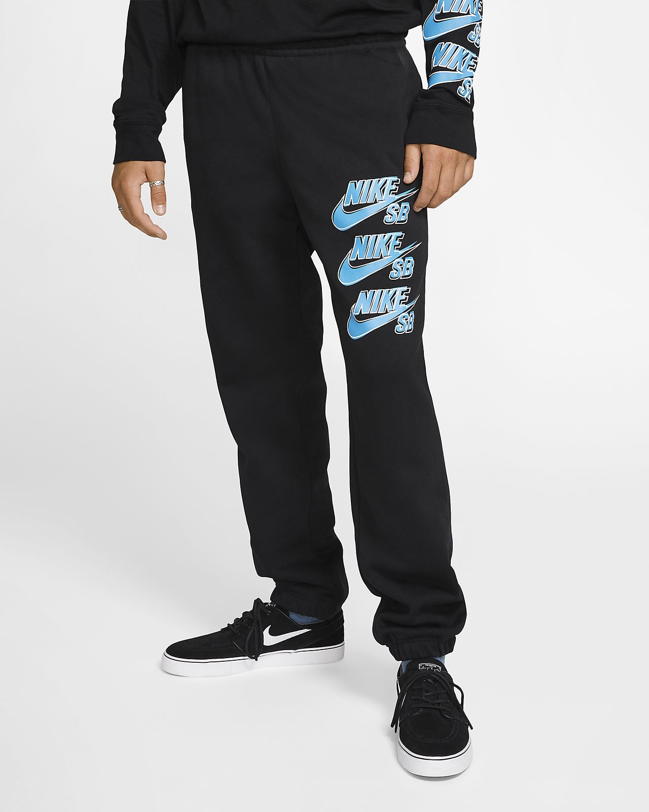 Nike SB Icon Fleece-Skateboardhose für Herren