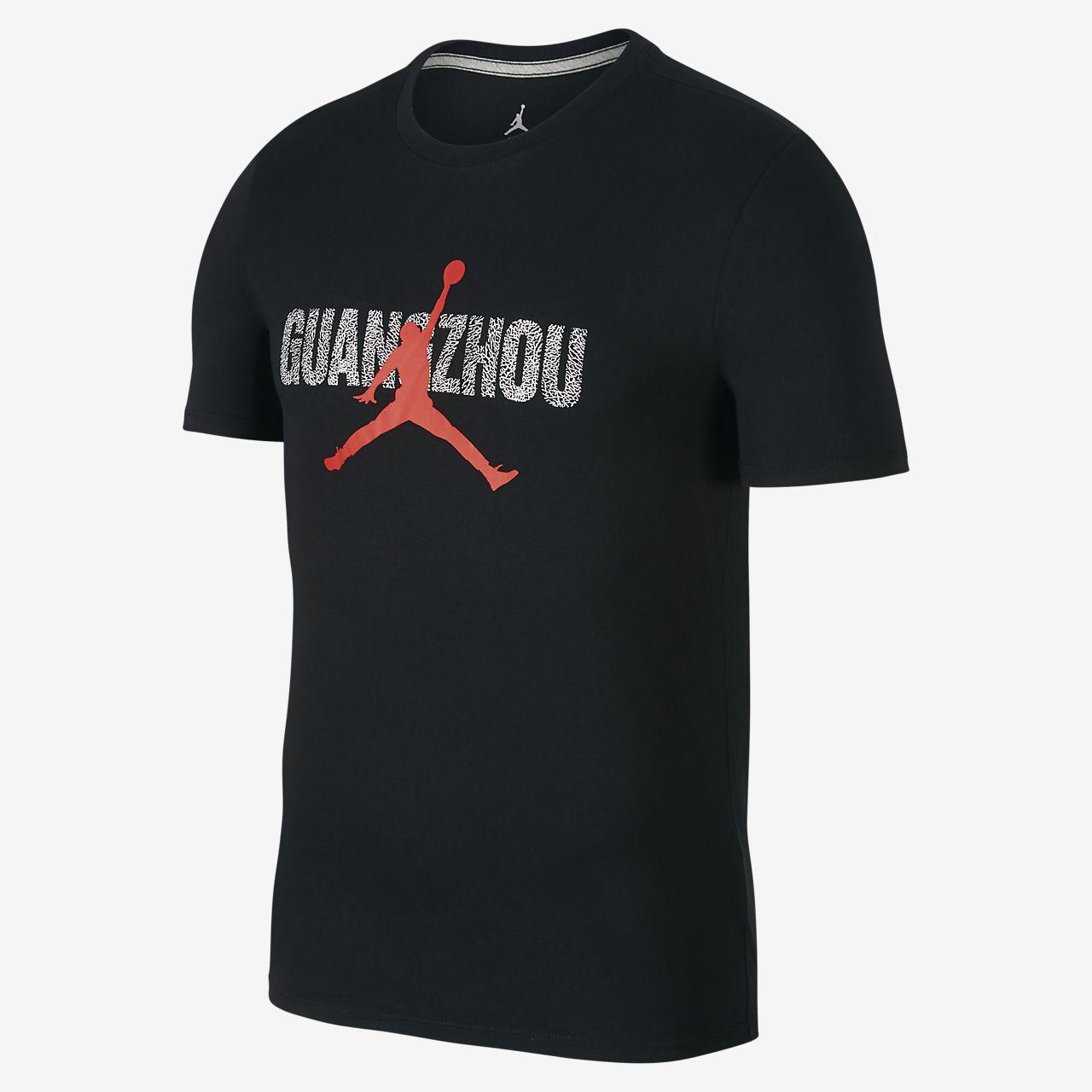 """Jordan """"Guangzhou"""" City 男子T恤"""