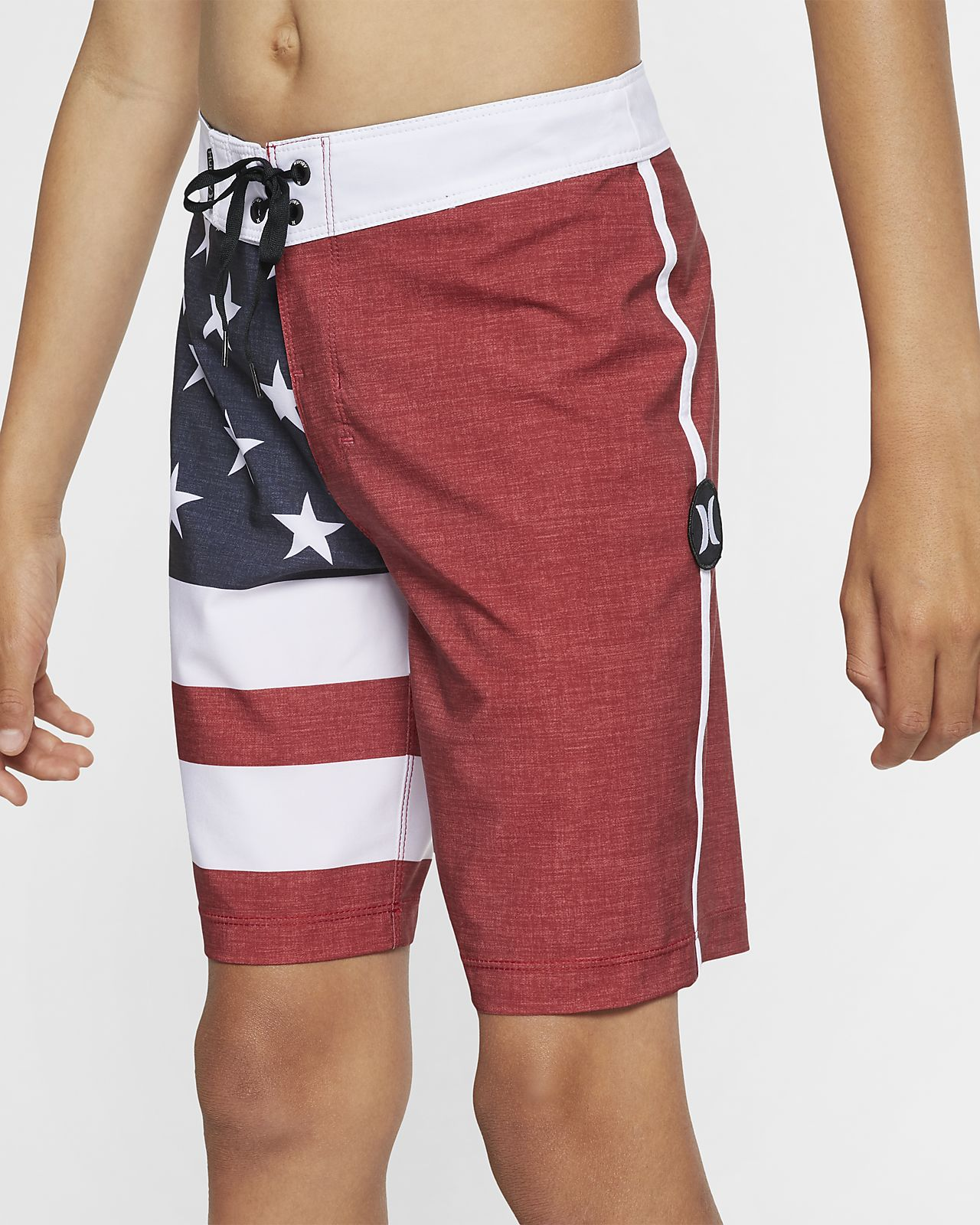 "Hurley Phantom Patriot Boys' 16"" Board Shorts"
