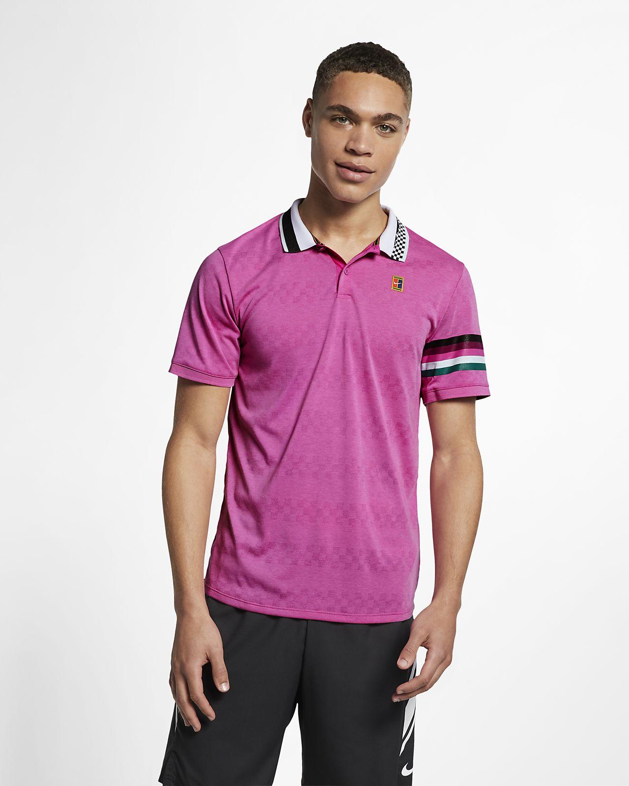 NikeCourt Advantage férfi teniszpóló