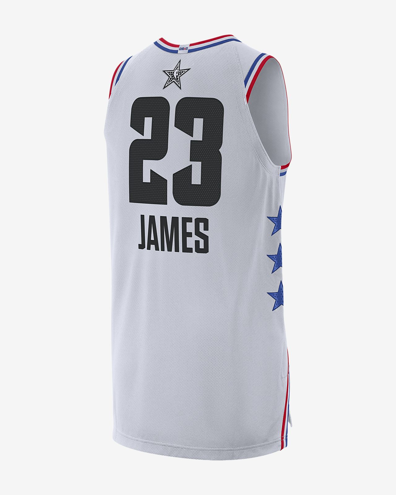 on sale 197ba 228e9 ... LeBron James All-Star Edition Authentic Mens Jordan NBA Connected  Jersey