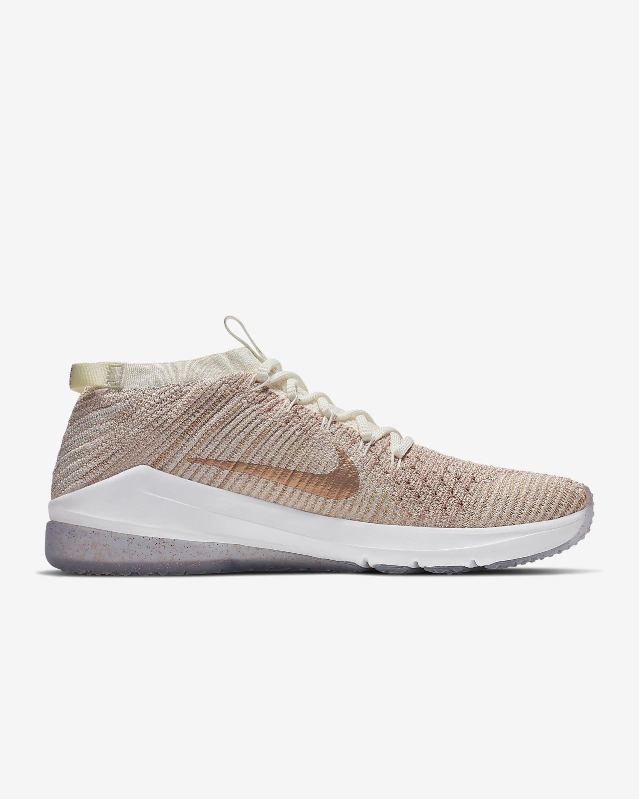 a59eed82c63 ... Sapatilhas de treino Nike Air Zoom Fearless Flyknit 2 Metallic para  mulher