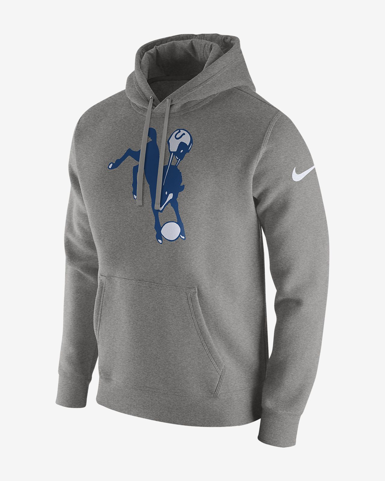 new york f8960 2c412 Nike Club Fleece (NFL Colts) Men's Pullover Hoodie