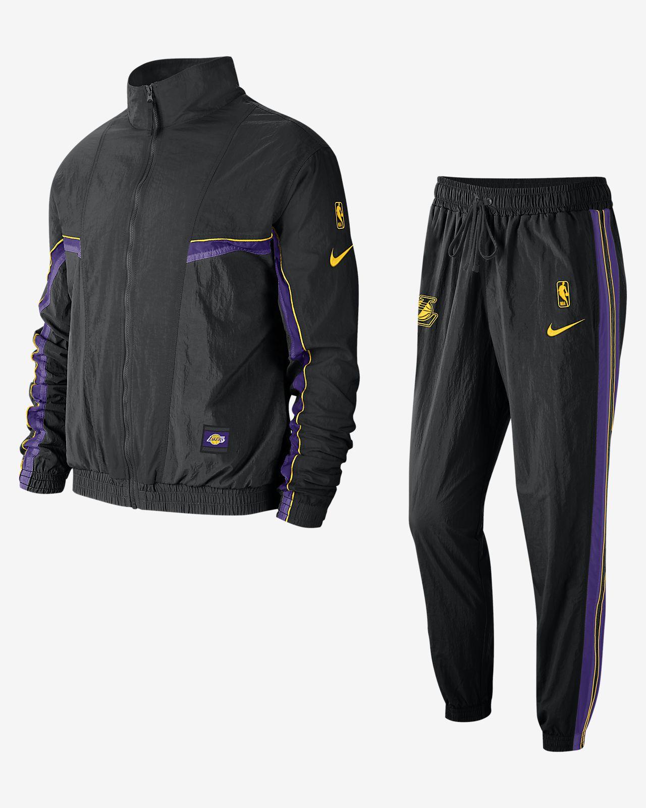 ชุดวอร์ม NBA ผู้ชาย Los Angeles Lakers Nike
