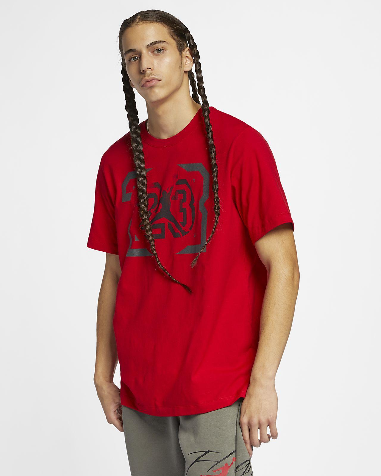 เสื้อยืดผู้ชาย Jordan Legacy AJ13