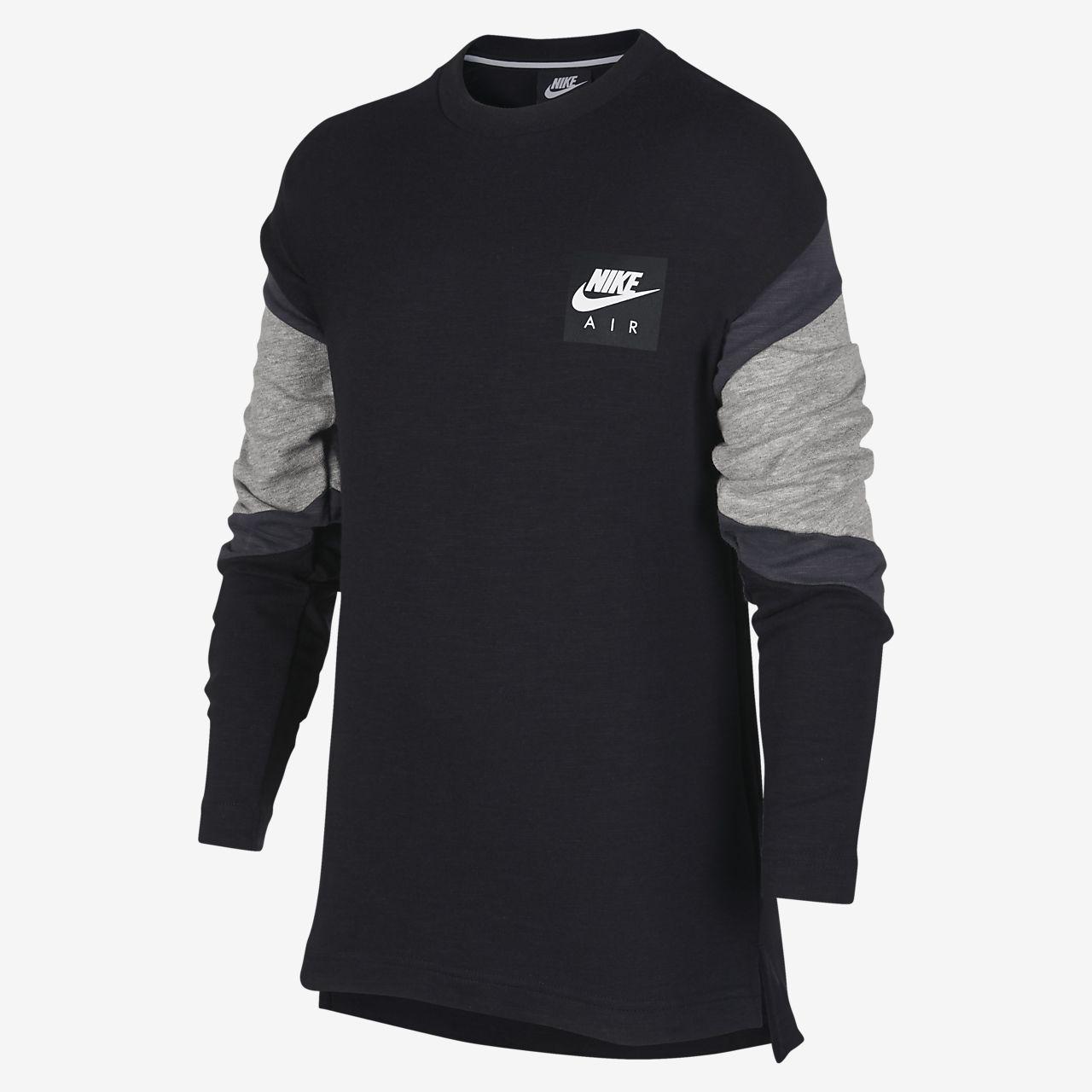 8d8eef72 Nike Air Older Kids' (Boys') Long-Sleeve Top. Nike.com GB