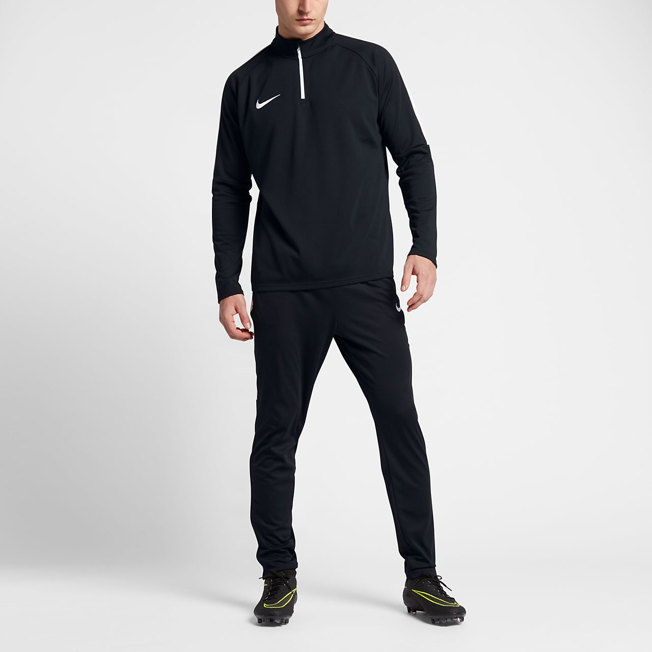 quality design ee3e2 53d9c ... Nike Dri-FIT Academy Men s 1 4 Zip Football Drill Top