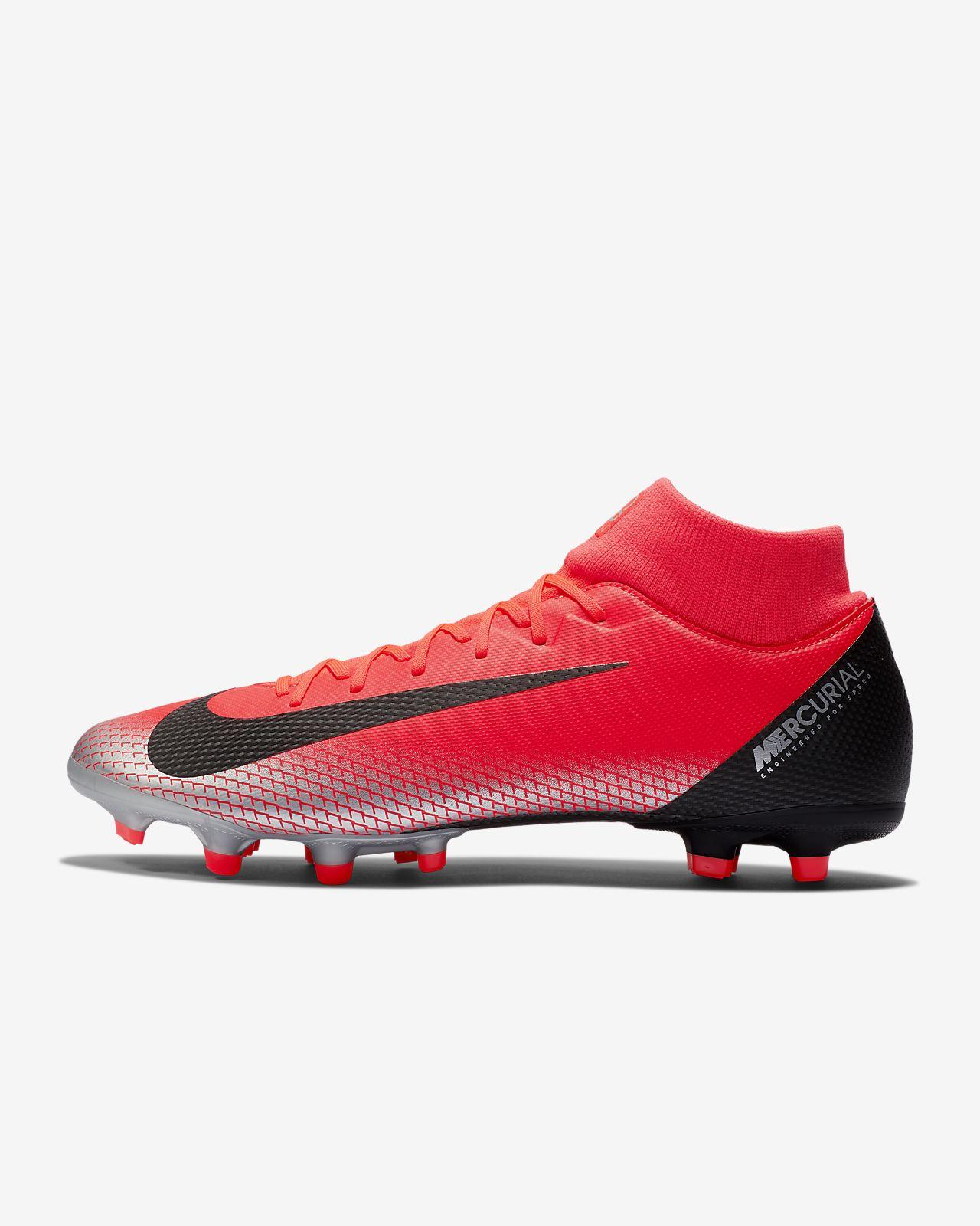 Футбольные бутсы для игры на разных покрытиях Nike Mercurial Superfly 6  Academy CR7 MG 7d979fcff3500