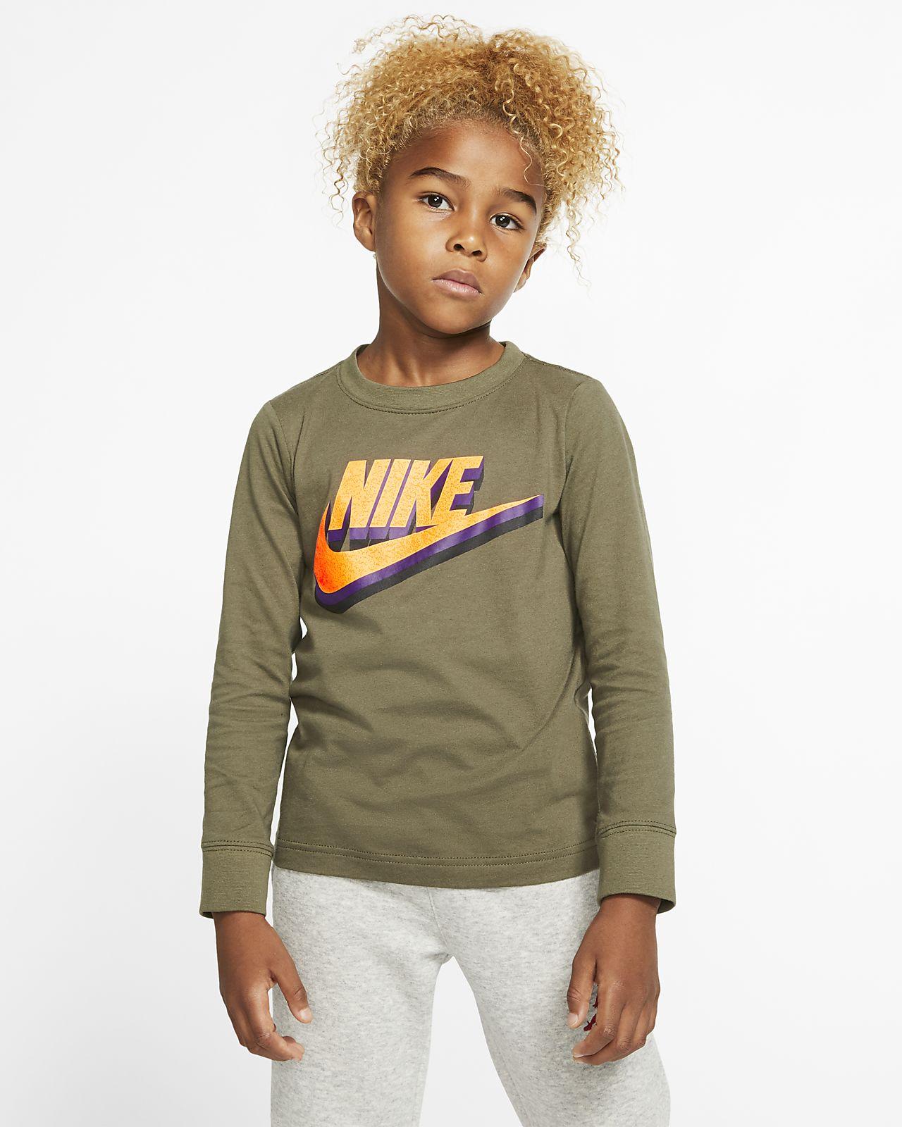 Tee-shirt à manches longues Nike Sportswear pour Jeune enfant
