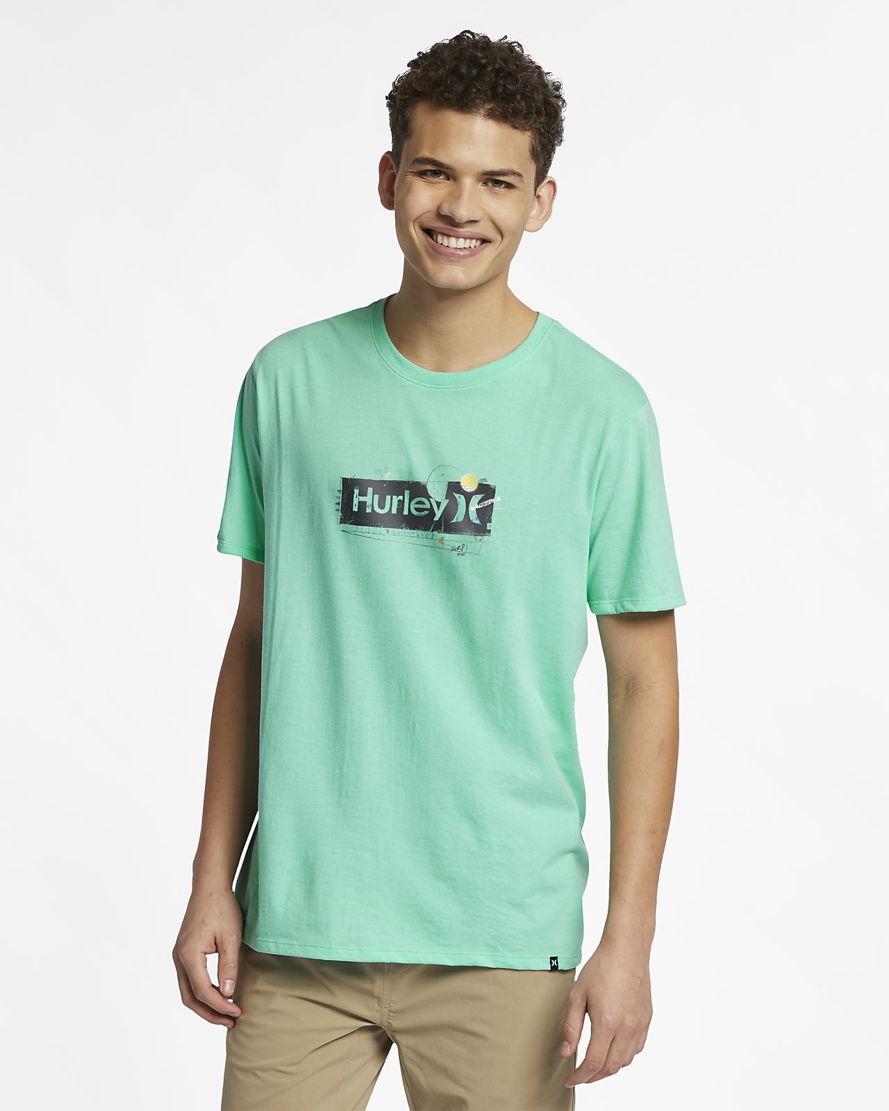 T-shirt Hurley Premium One And Only Punked för män