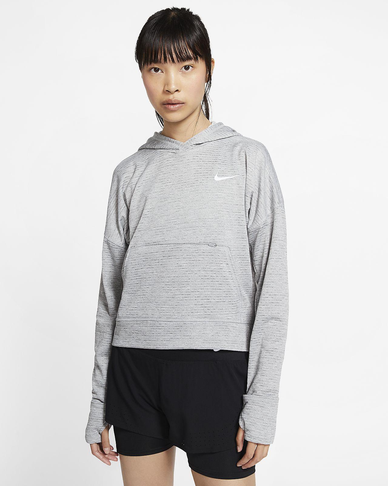 Nike Therma Element 女子跑步连帽衫