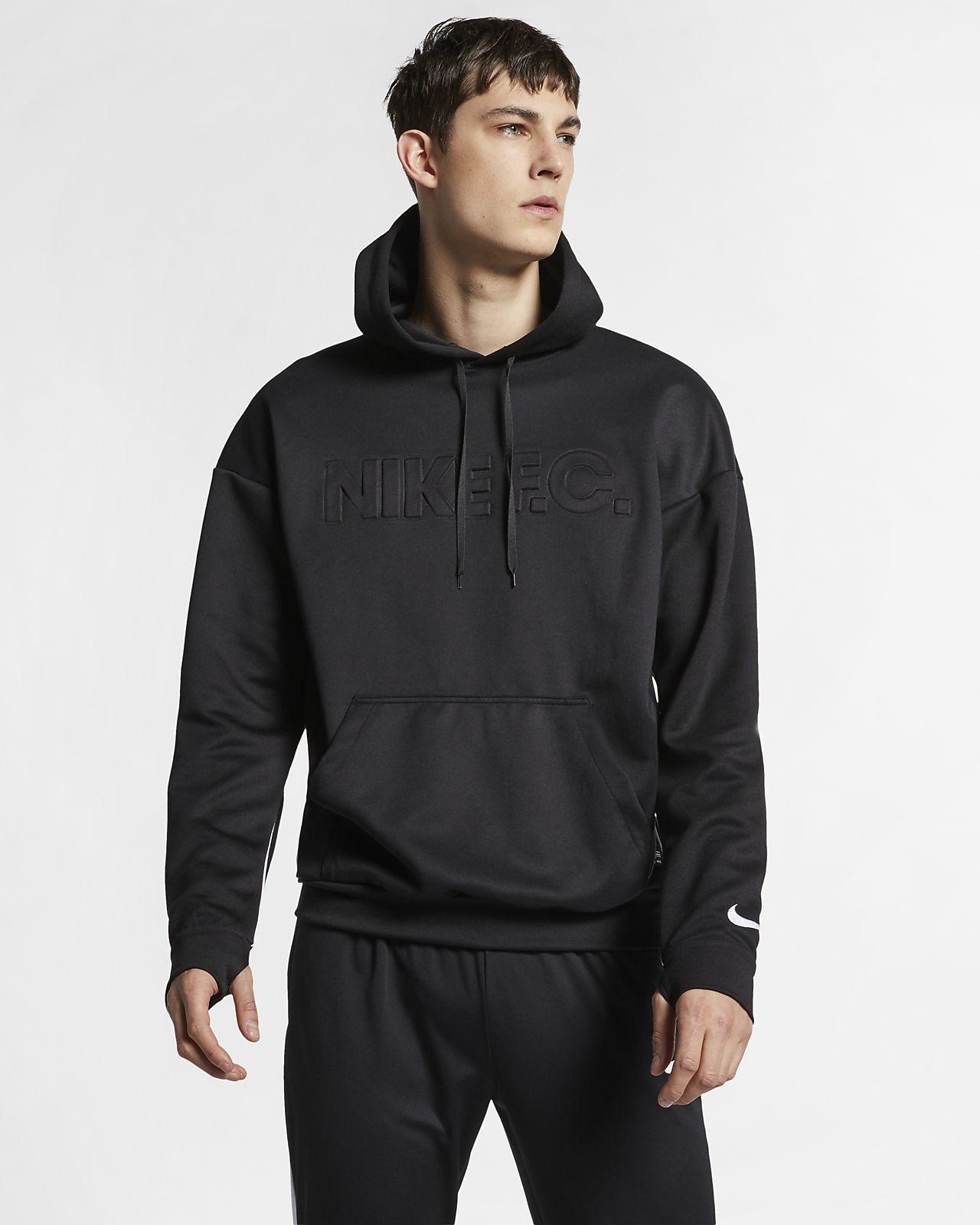 Nike F.C. Dessuadora amb caputxa de futbol
