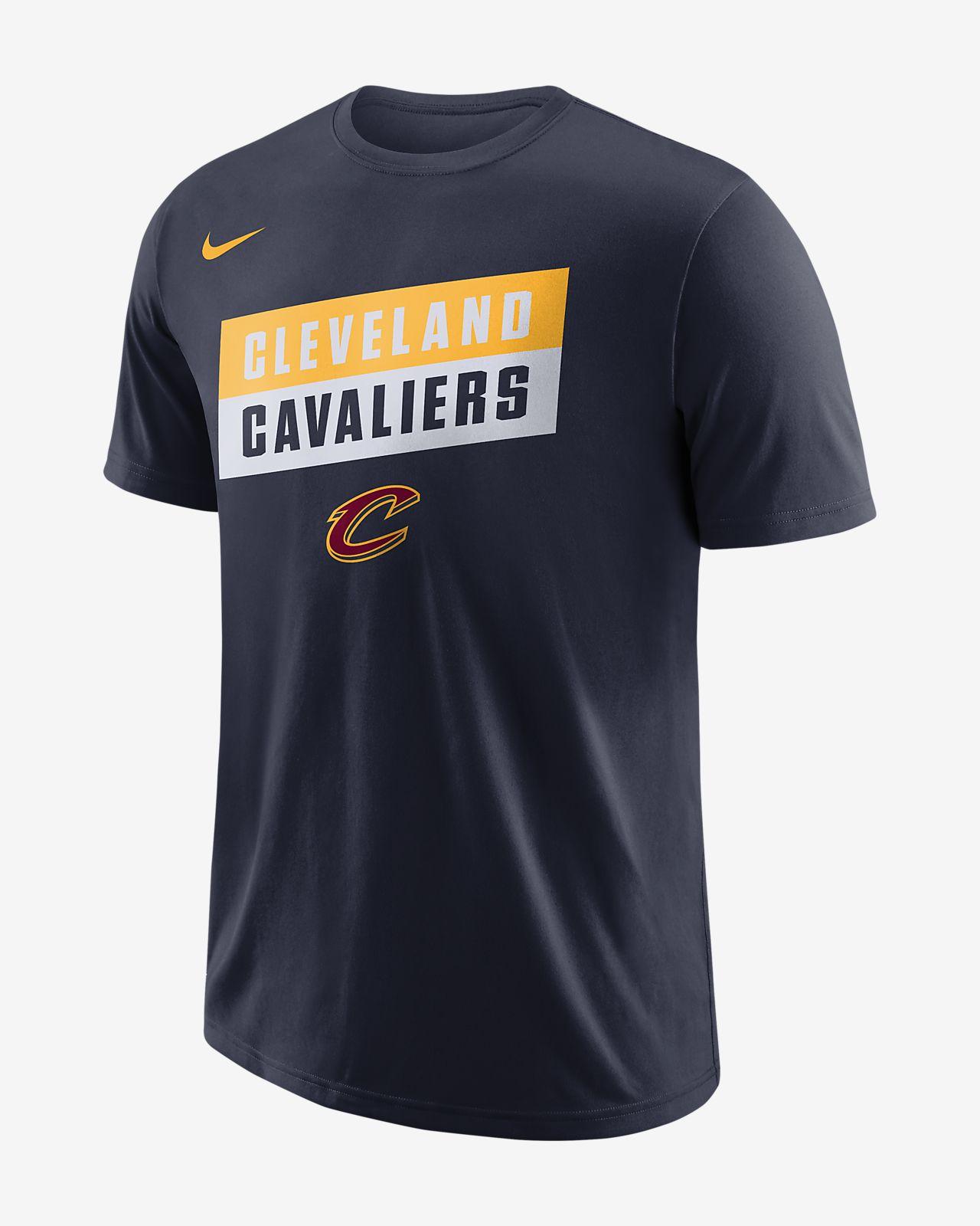 Cleveland Cavaliers Nike Dri-FIT NBA-s férfipóló