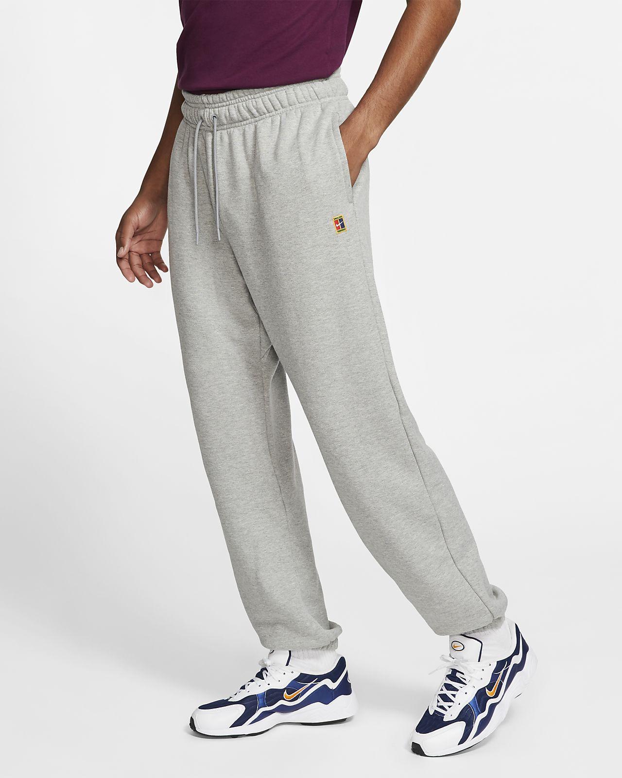 NikeCourt Men's Fleece Tennis Trousers