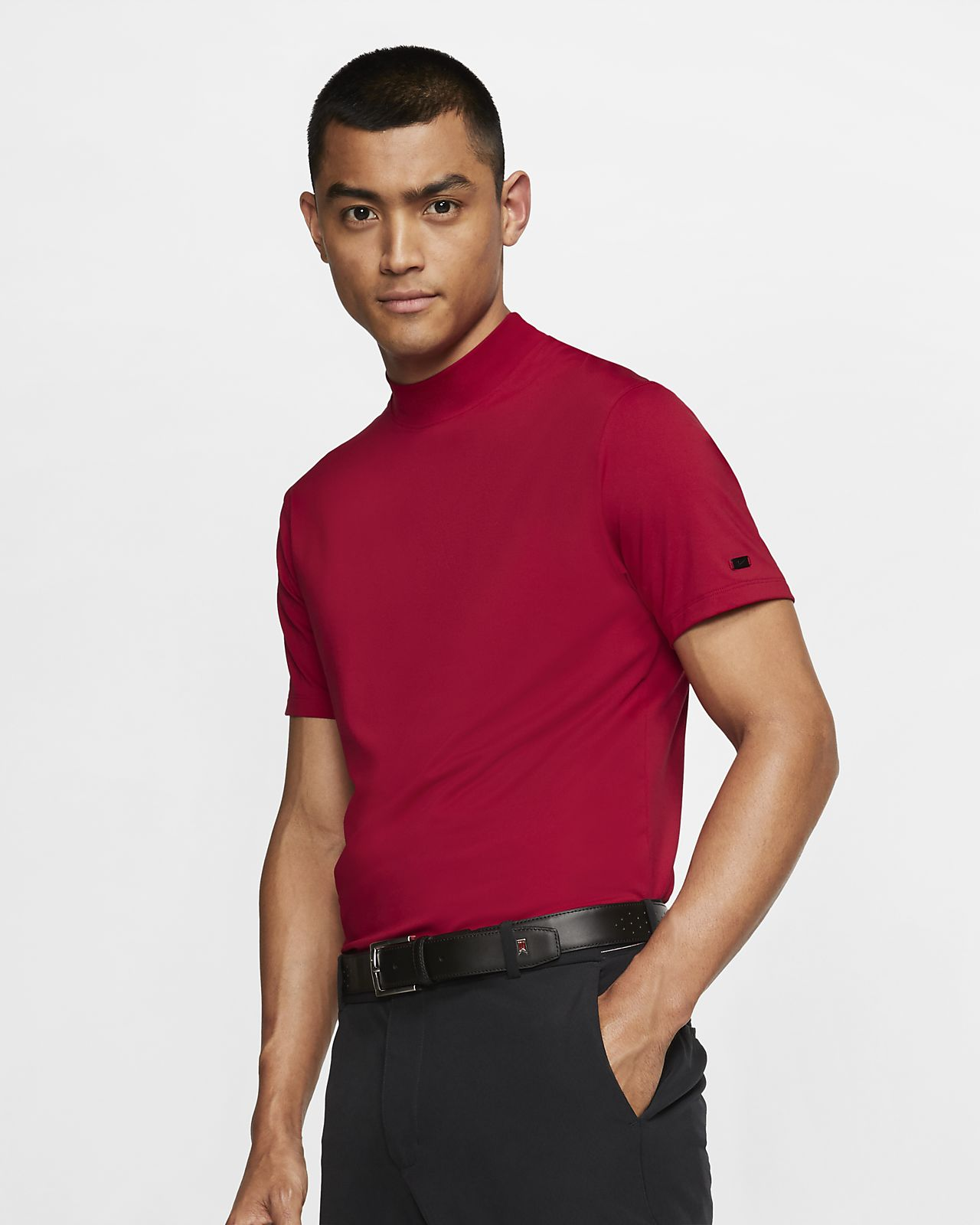 Nike Dri-FIT Tiger Woods Vapor Men's Mock-Neck Golf Top