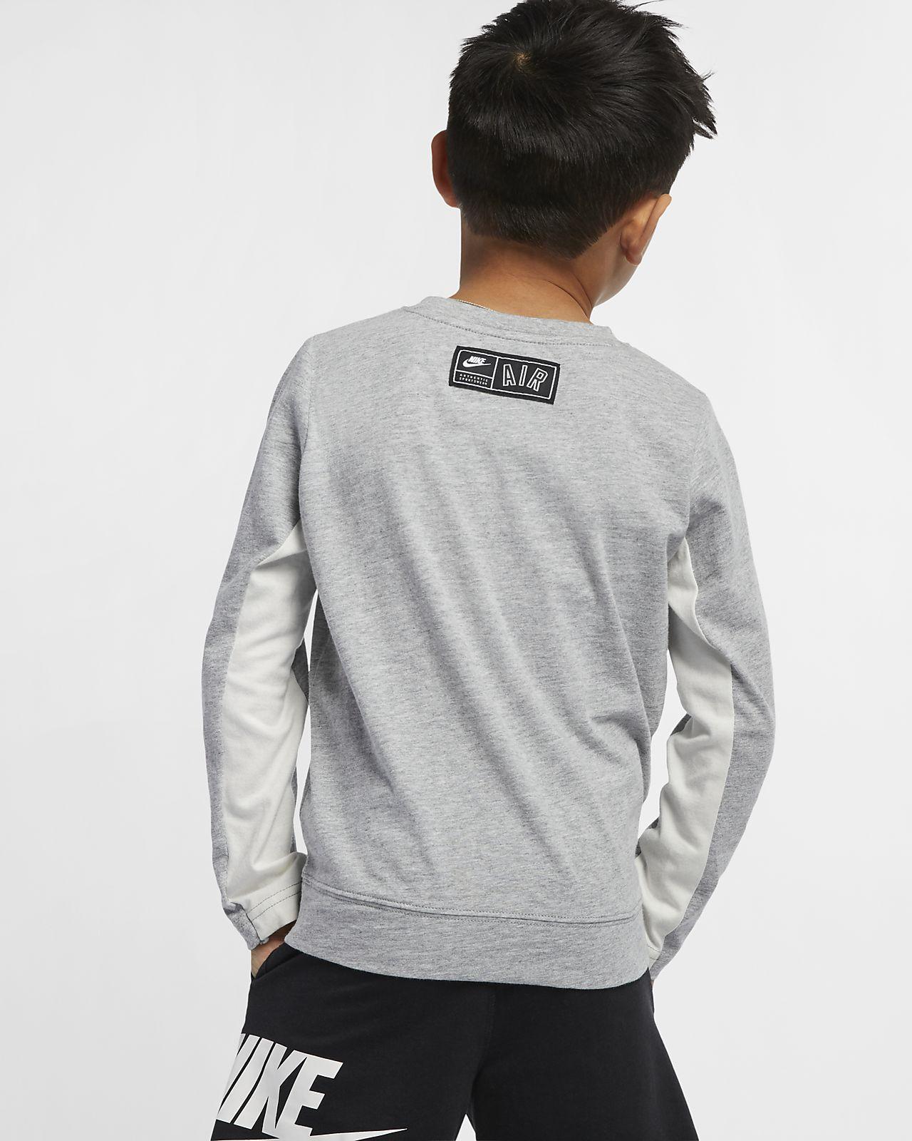 9b3eec12 Nike Air Younger Kids' Long-Sleeve Top. Nike.com GB