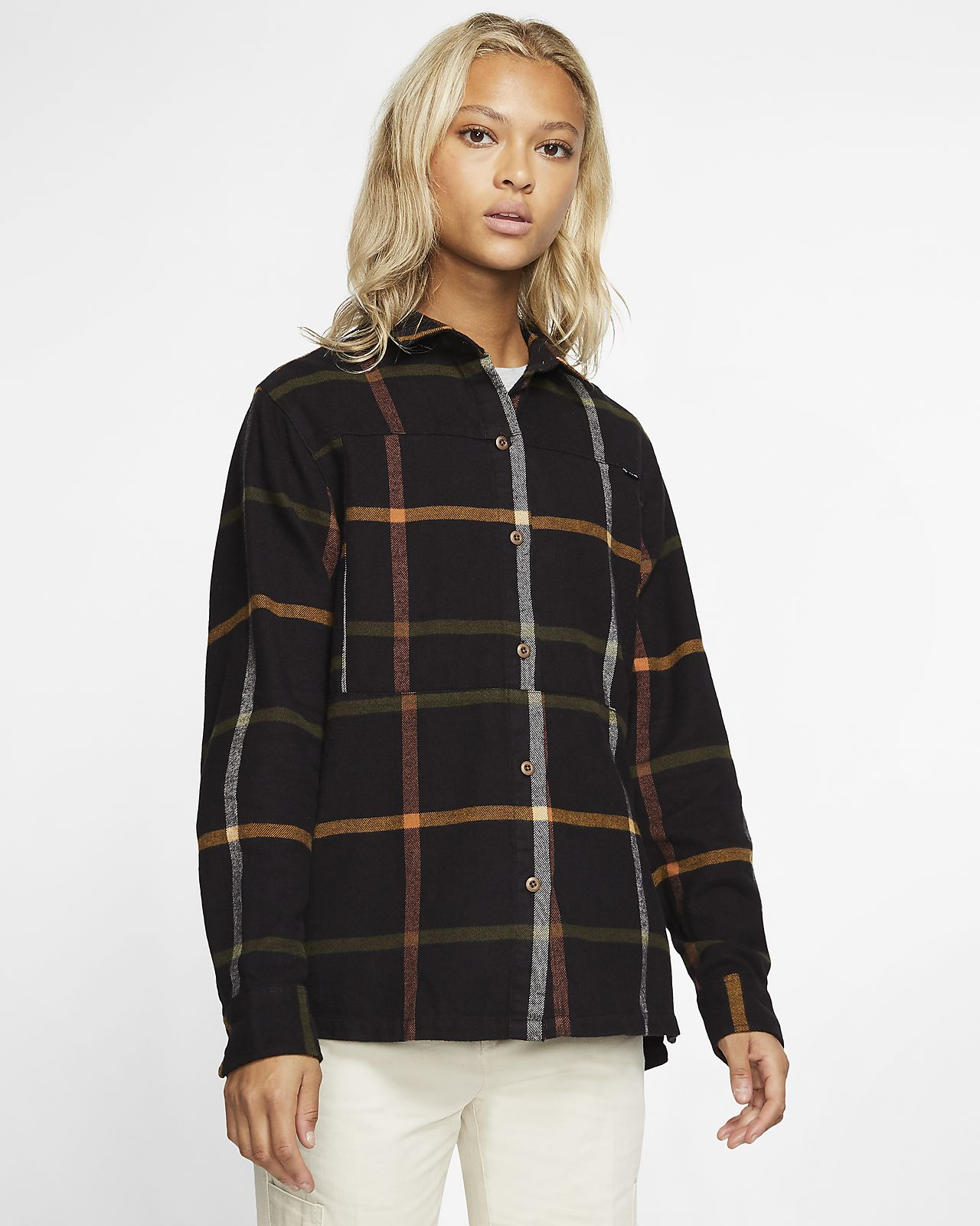 Hurley Wilson Women's Long-Sleeve Flannel