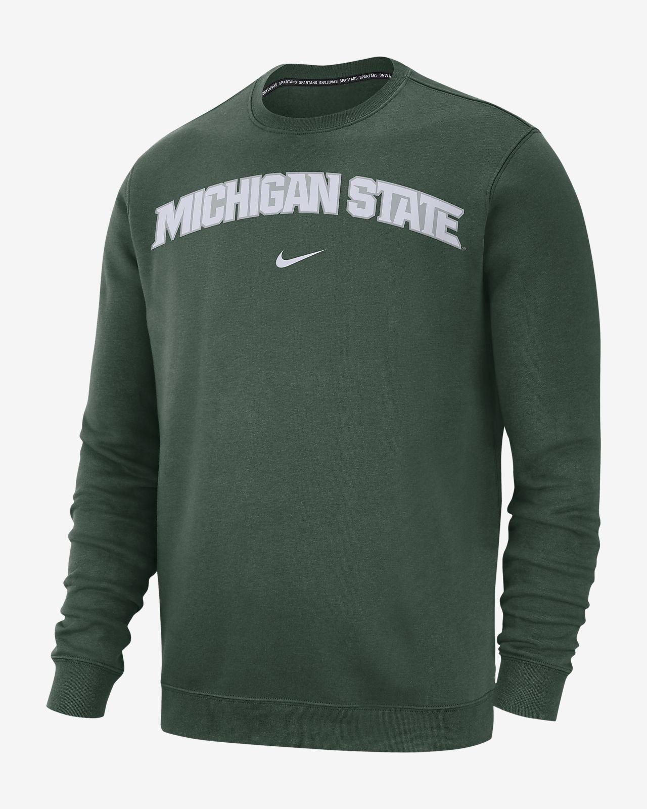 Nike College Club Michigan State Men S Sweatshirt Nike Com
