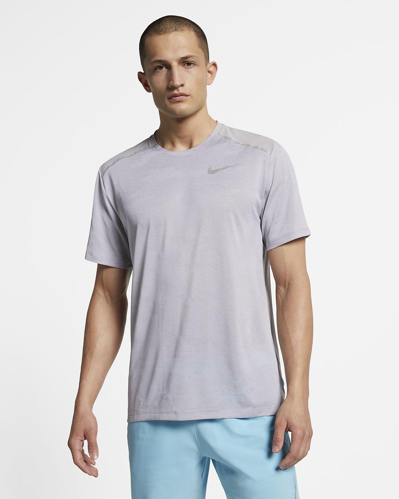 Haut de running à manches courtes Nike TechKnit pour Homme