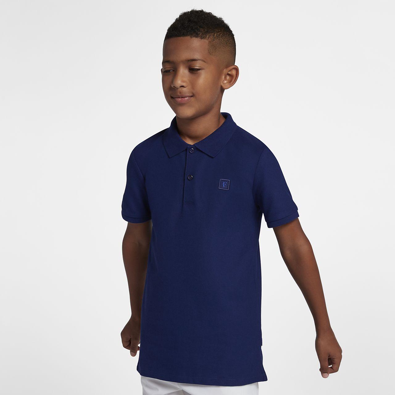 Rf Boys Tennis Polo Nike Com Ro