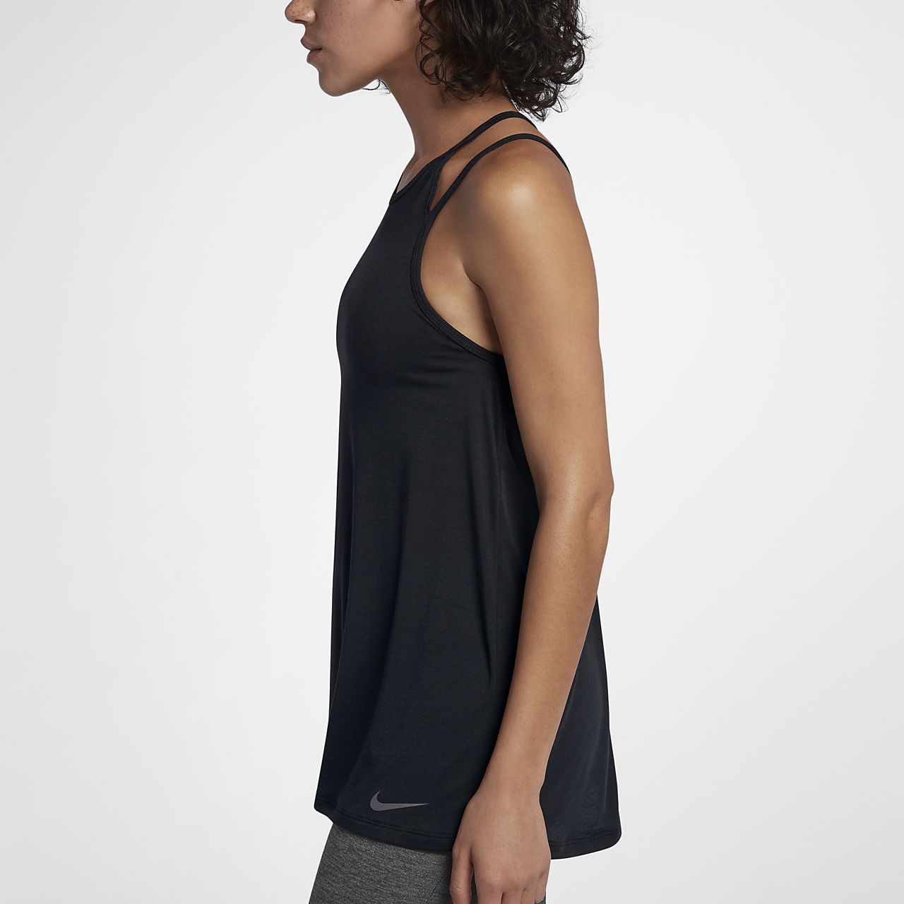 Nike Strappy Women's Training Tank Tops Black