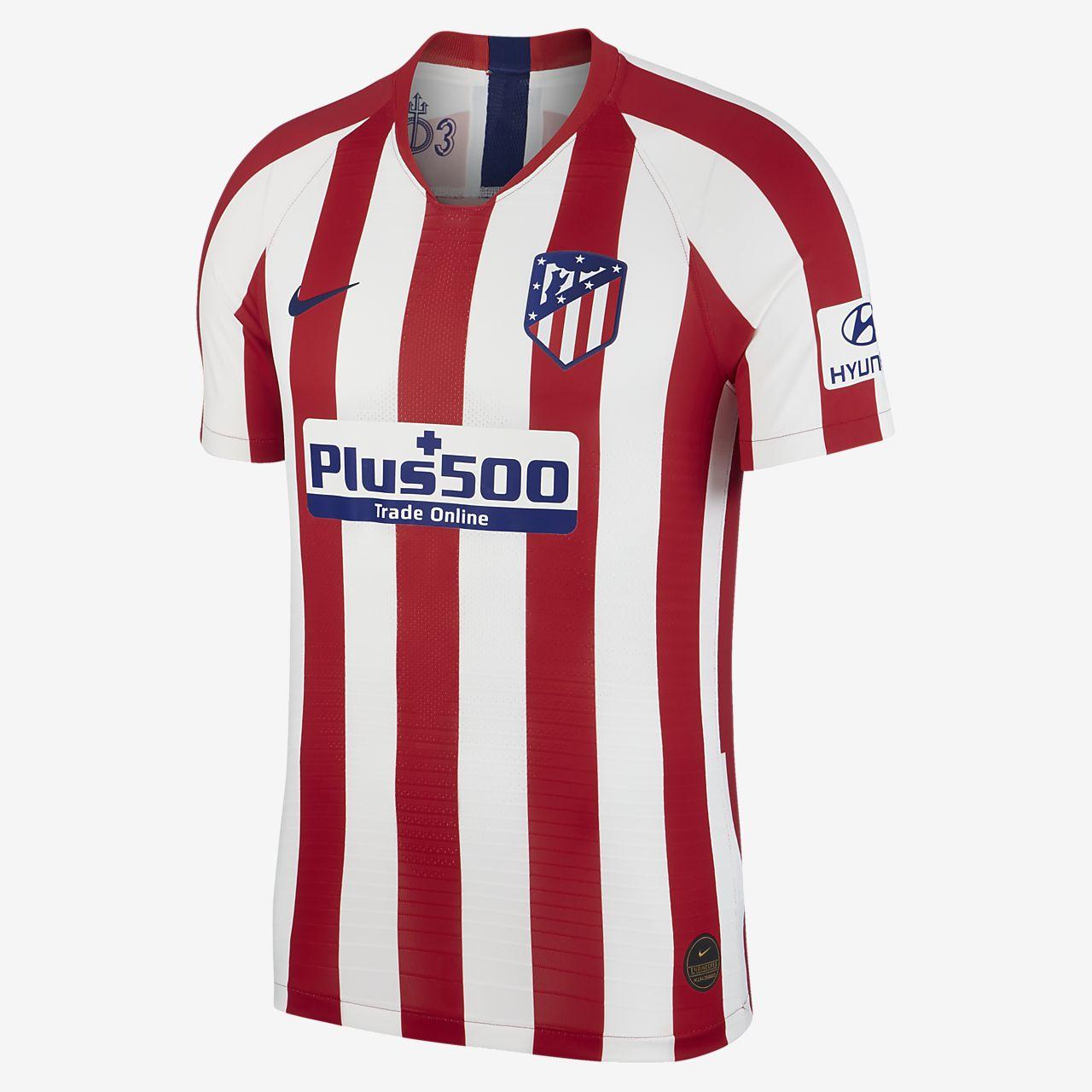 Camiseta de fútbol de local para hombre Vapor Match del Atlético de Madrid 2019/20