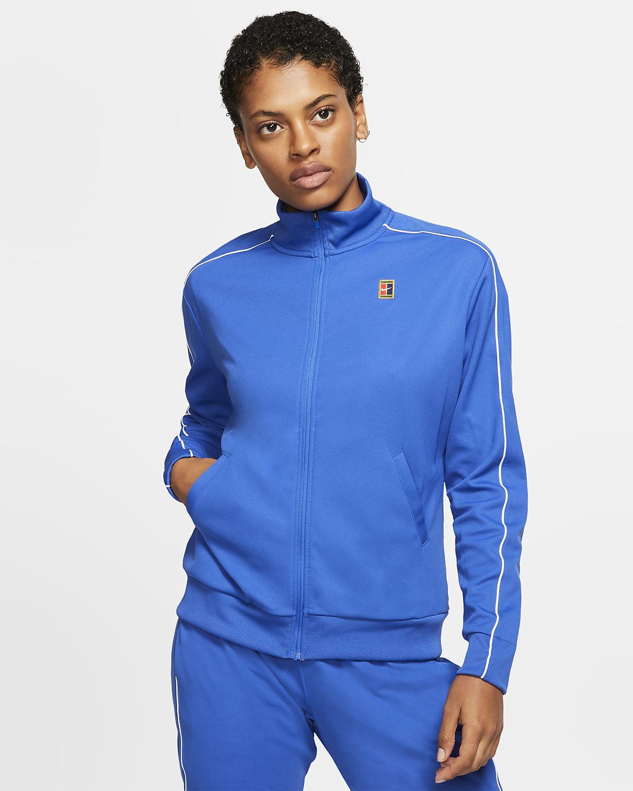 Chamarra de tenis NikeCourt para mujer