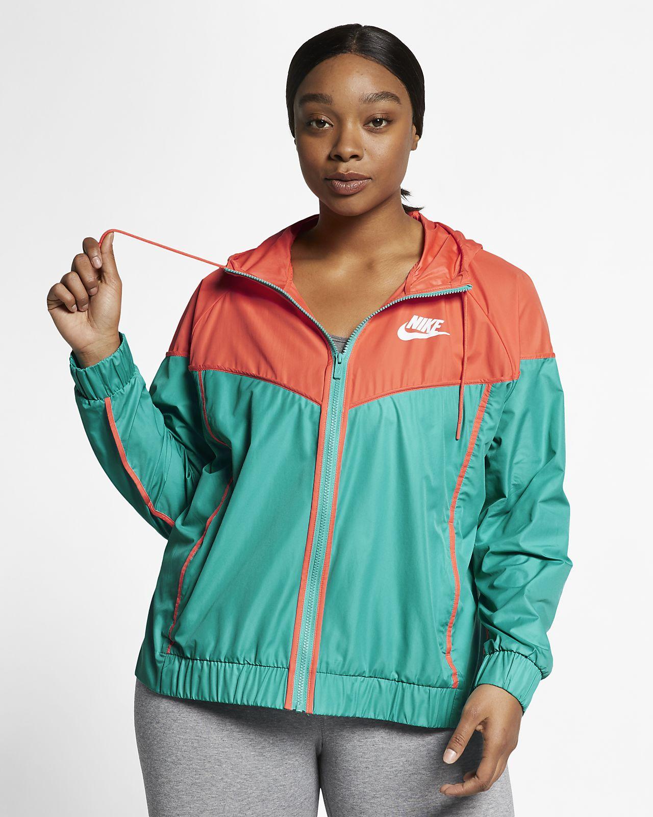 89560ef2e9a Chamarra para mujer talla grande Nike Sportswear Windrunner. Nike.com MX