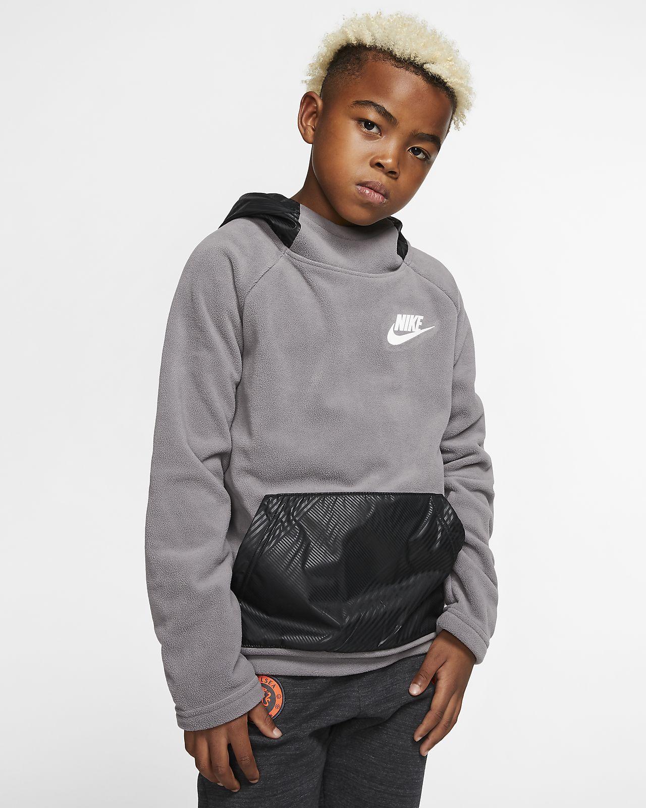 Nike Sportswear - pullover-hættetrøje til store børn (drenge)