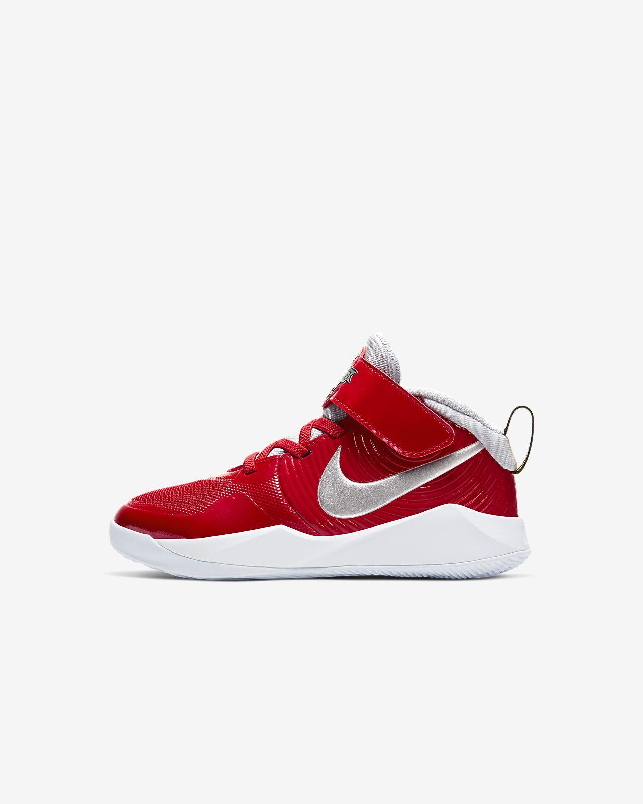 Nike Team Hustle D Auto 9 sko til små barn
