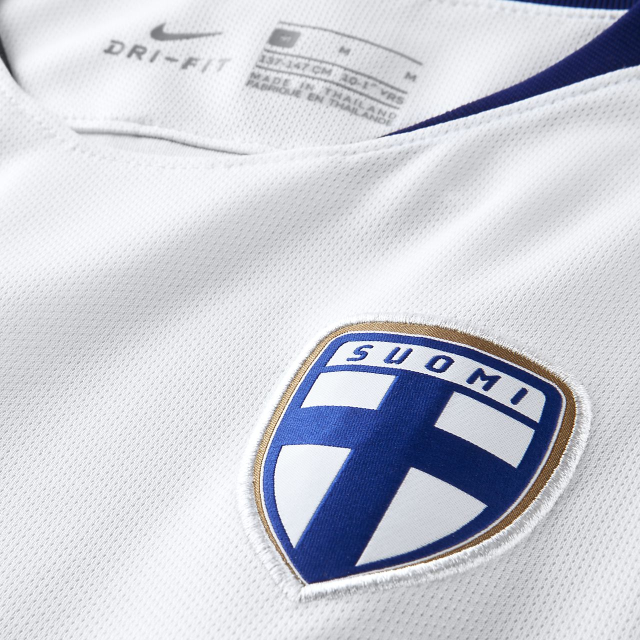 2966241cee92 2018 Finland Stadium Home Older Kids  Football Shirt. Nike.com ZA