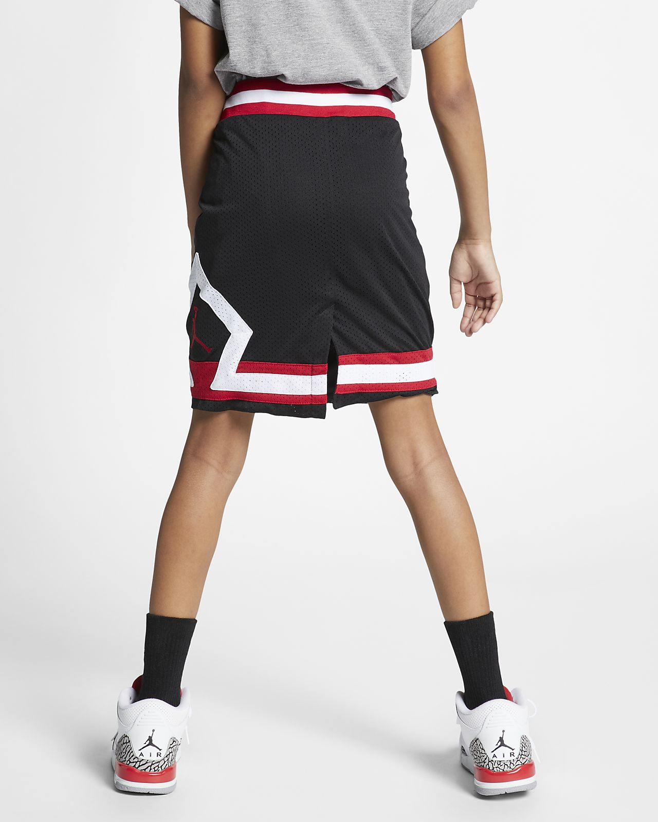 f9a17ee36 Jordan Older Kids' (Girls') Mesh Skirt. Nike.com GB