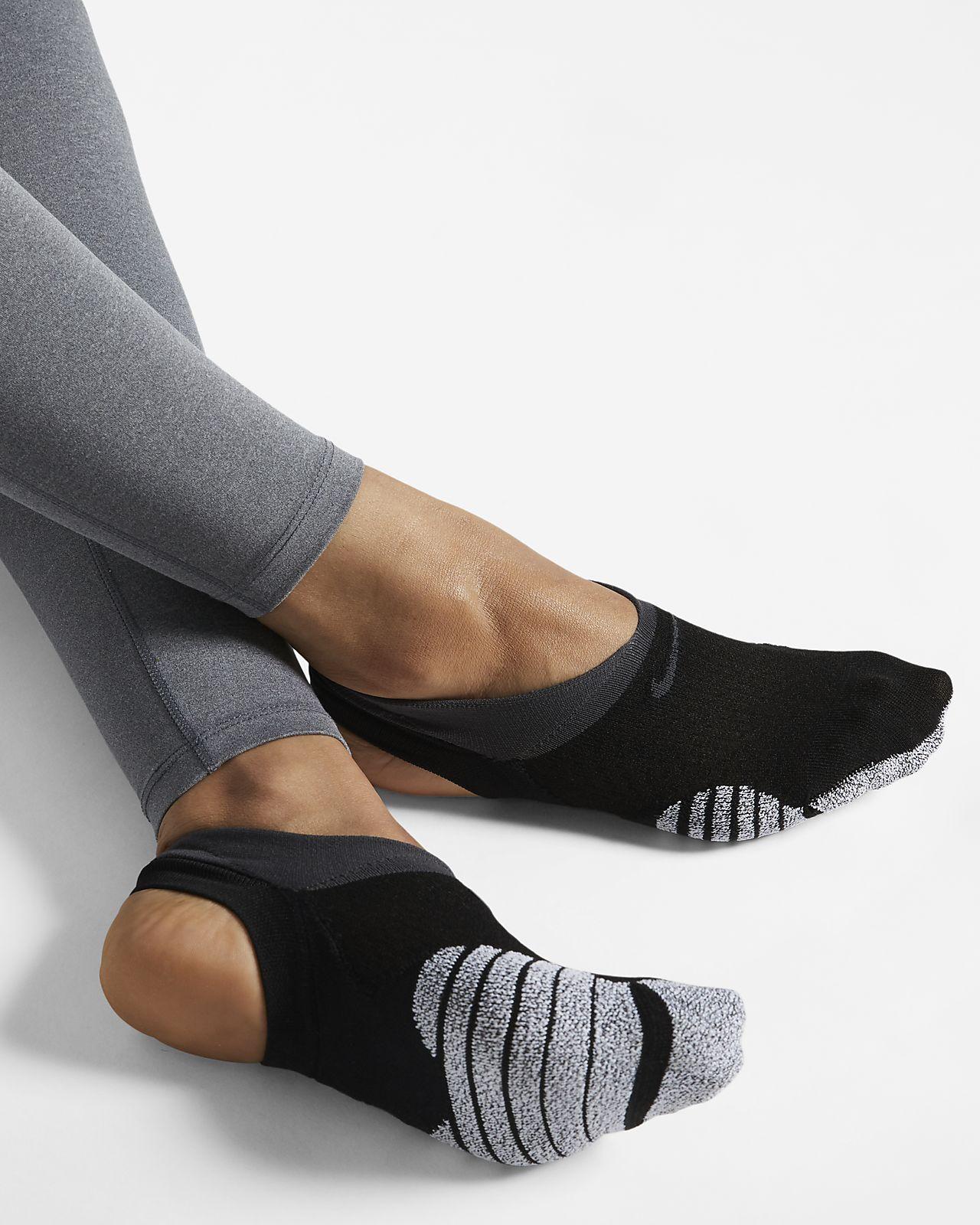 Chaussettes invisibles de training NikeGrip Studio pour Femme