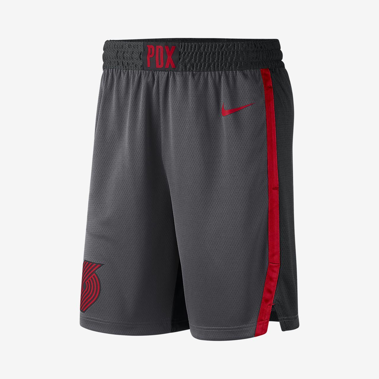 the best attitude f08a1 7c474 Portland Trail Blazers City Edition Swingman Men's Nike NBA Shorts