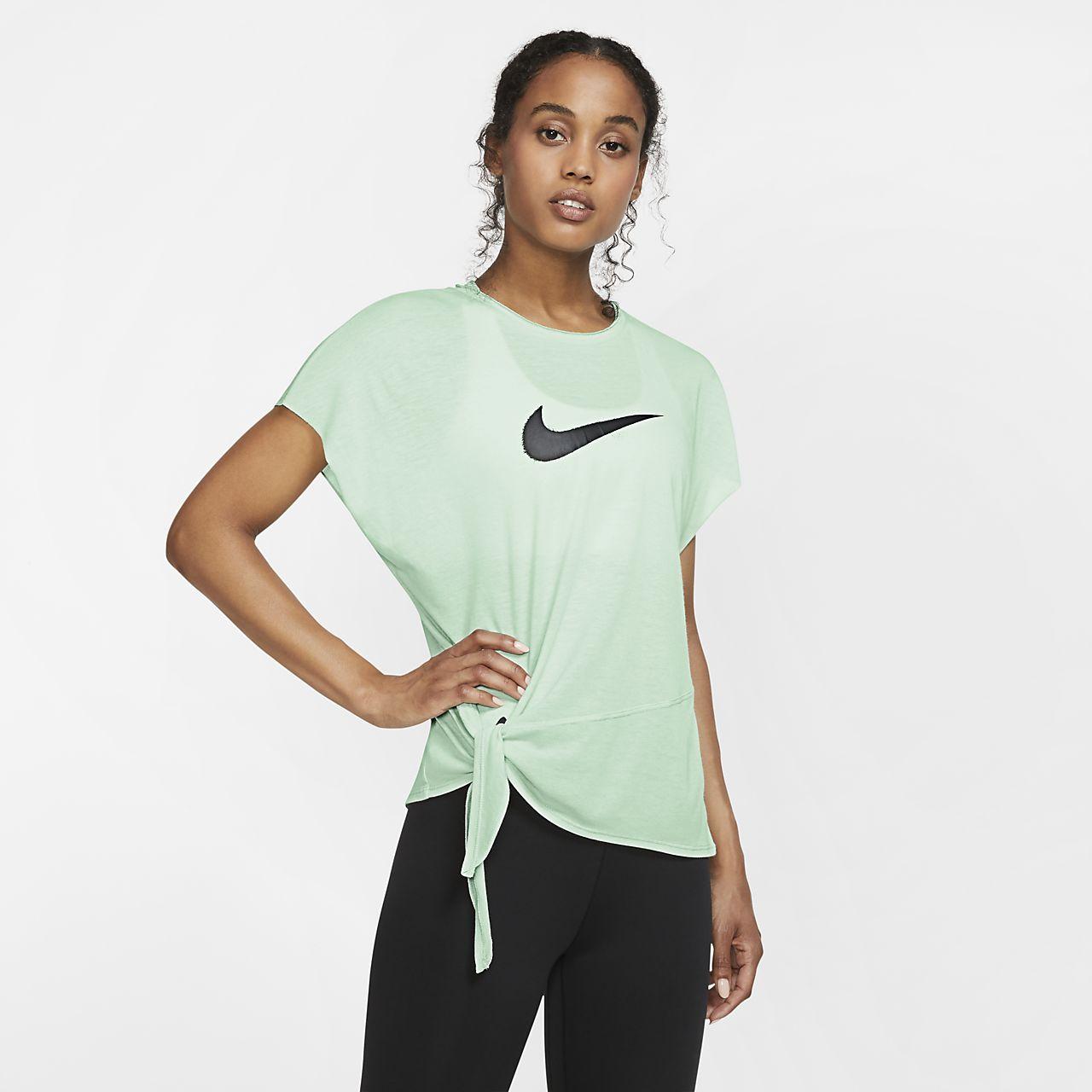 Γυναικεία κοντομάνικη μπλούζα προπόνησης Nike Dri-FIT