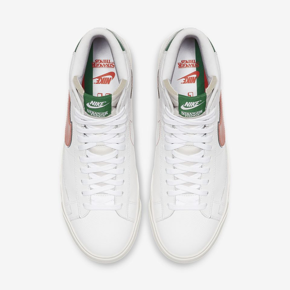 Nike x Stranger Things Blazer Mid 'Hawkins High' Release Date. Nike ...