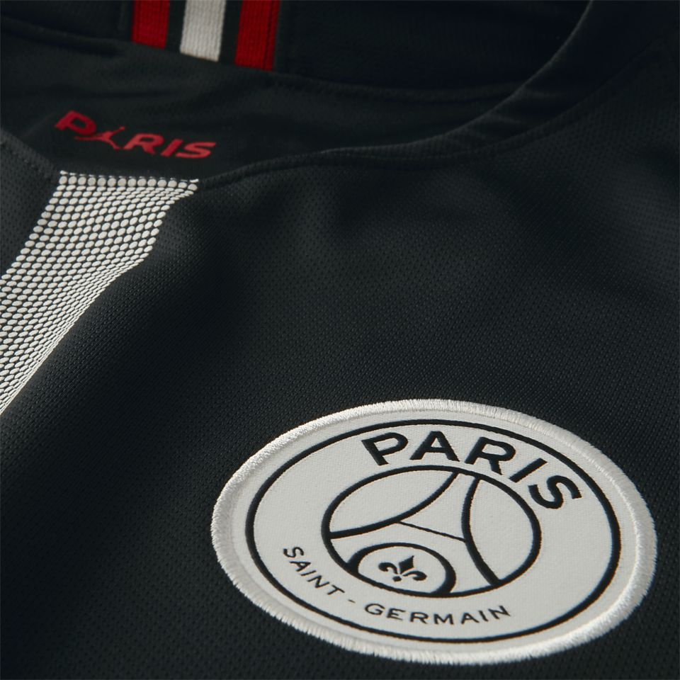 e60893a3abf0a4 Jordan x Paris Saint-Germain Black Kit. Nike.com