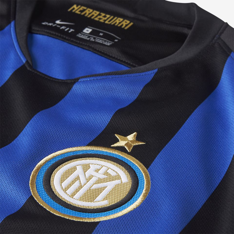 2018/19 Inter Milan Stadium Home Kit