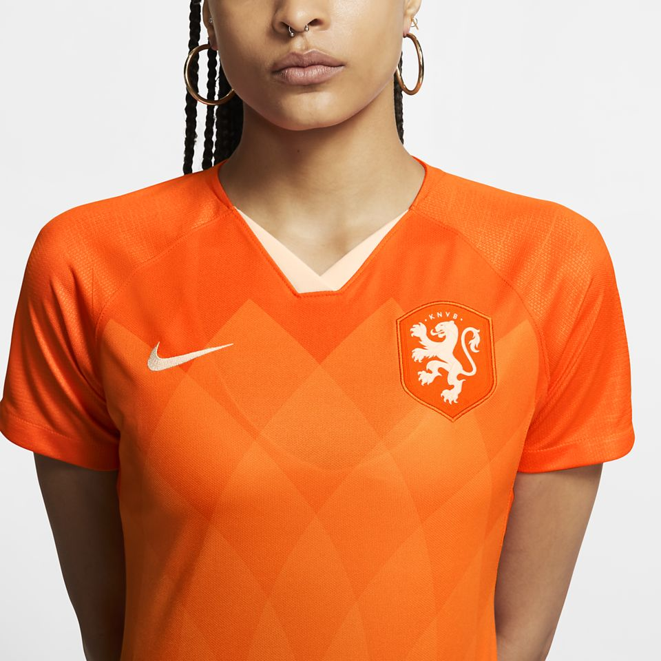 2019 Dutch National Team Stadium Home Jersey