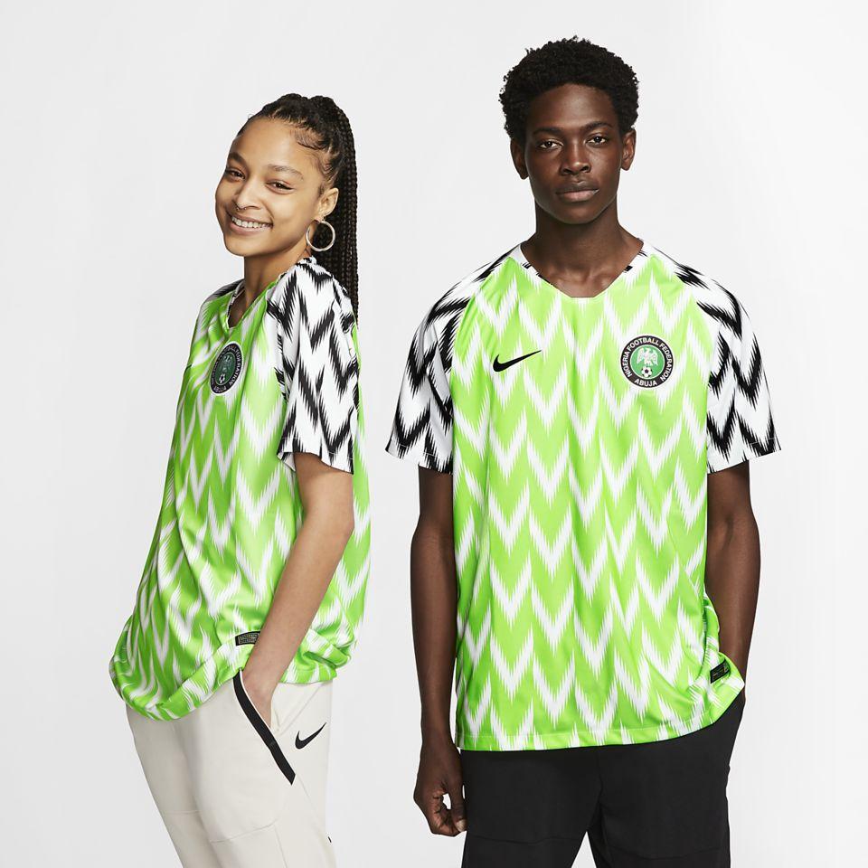 91bfcdd2e 2018 Nigeria Stadium Home Kit. Nigeria National Football Team